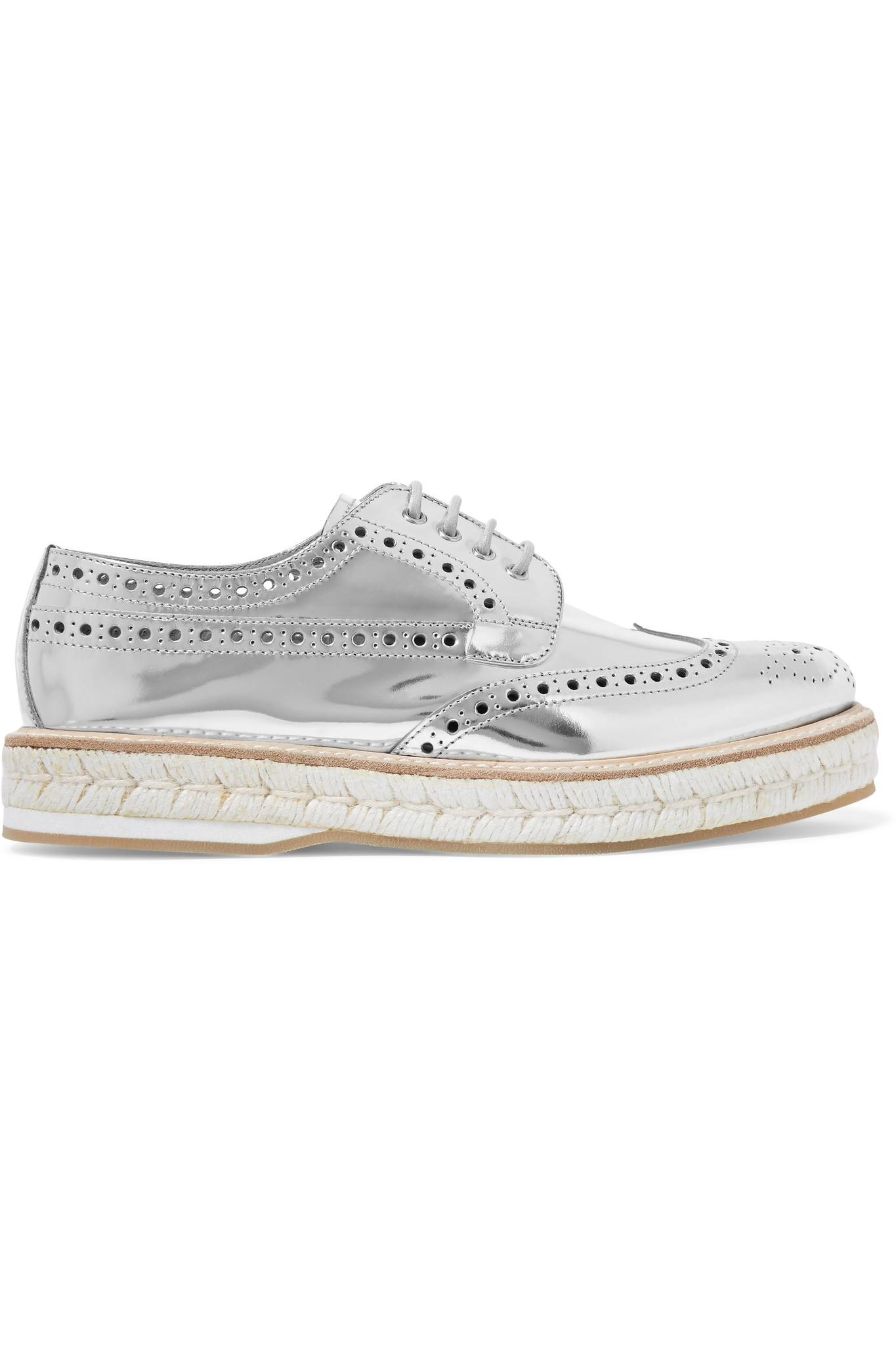 Discount Classic Clearance Factory Outlet Church's Keely 2 Metallic Leather Platform Brogues Hot Sale For Sale Discount Release Dates Pay With Paypal Cheap Online xUhLOgz36