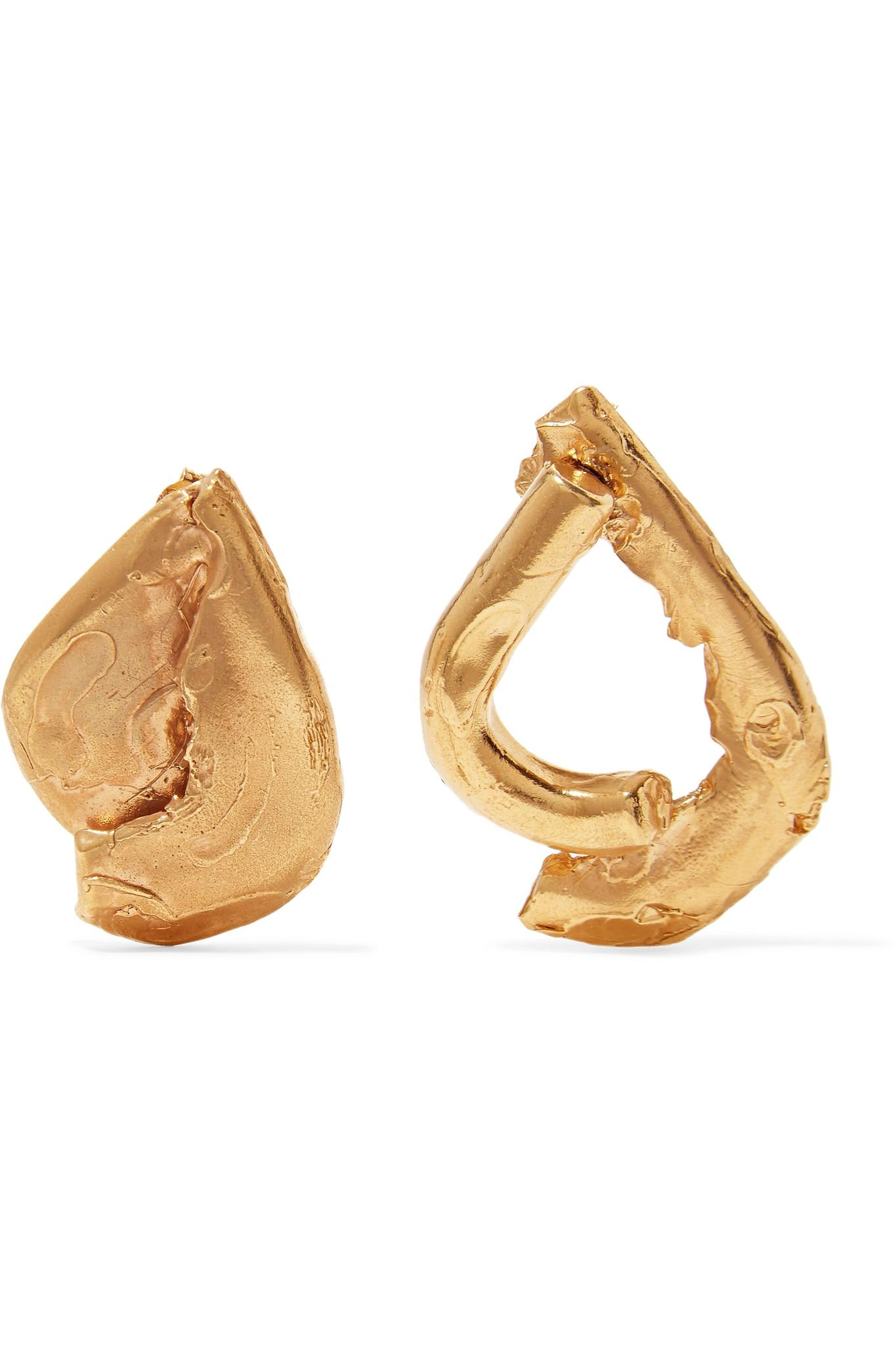 Moment Of Clarity Gold-plated Earrings - one size ALIGHIERI 0GPAZ