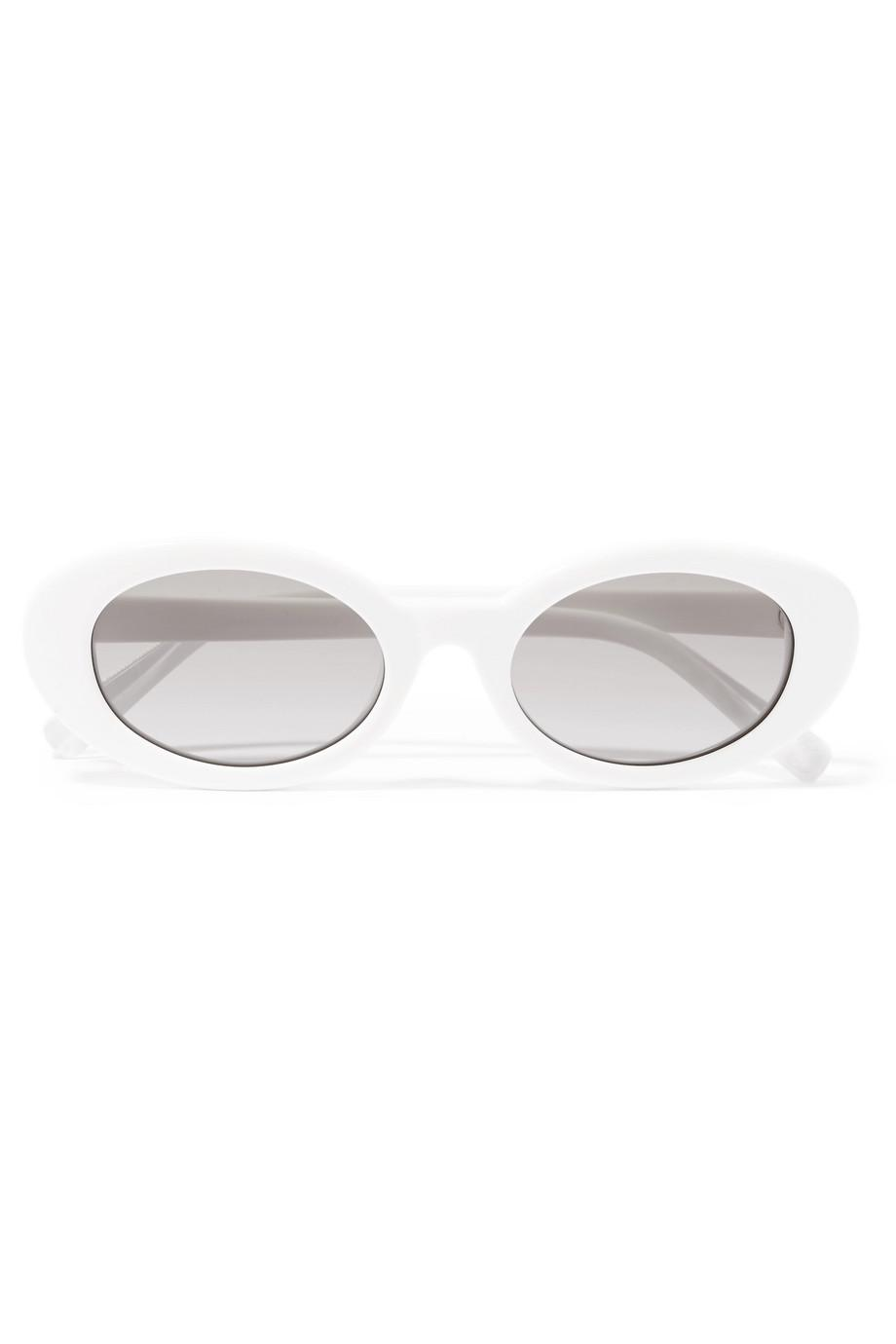 Lyst - Elizabeth And James Mckinley Oval-frame Acetate Sunglasses in ...