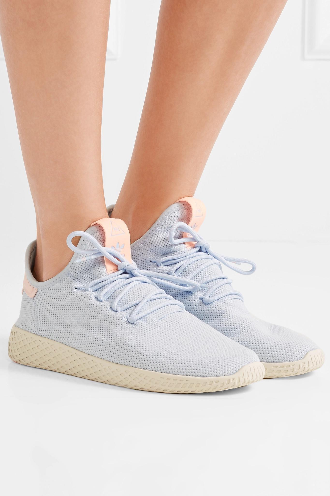 702e5e7b6 Adidas Originals - Blue Pharrell Williams Tennis Hu Primeknit Sneakers -  Lyst. View fullscreen
