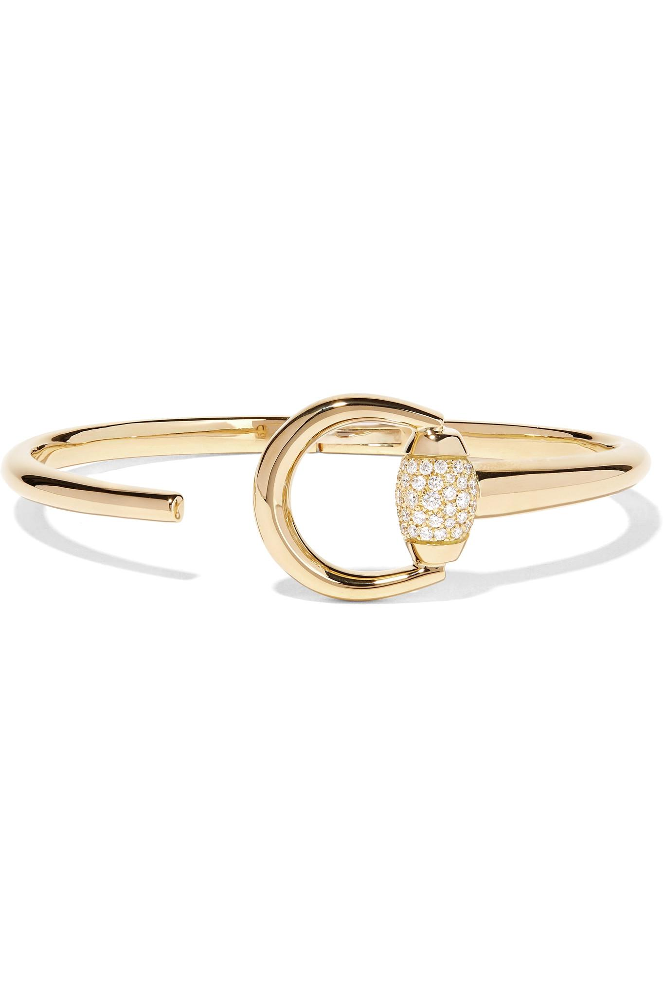 Gucci 18-karat Gold Diamond Ring kSIAKLsTY