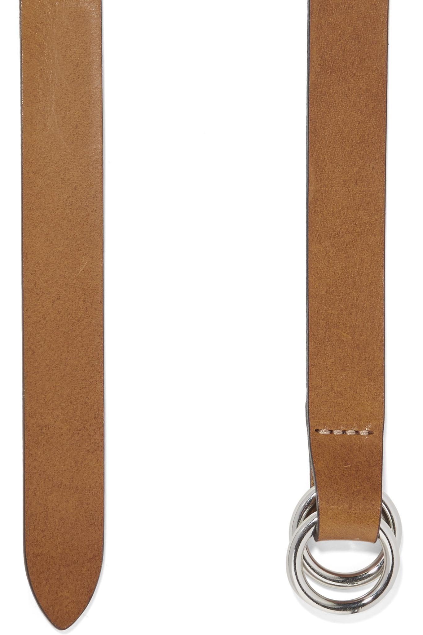 ac03b55618b7 Lyst - Isabel Marant Cajou Leather Waist Belt in Brown