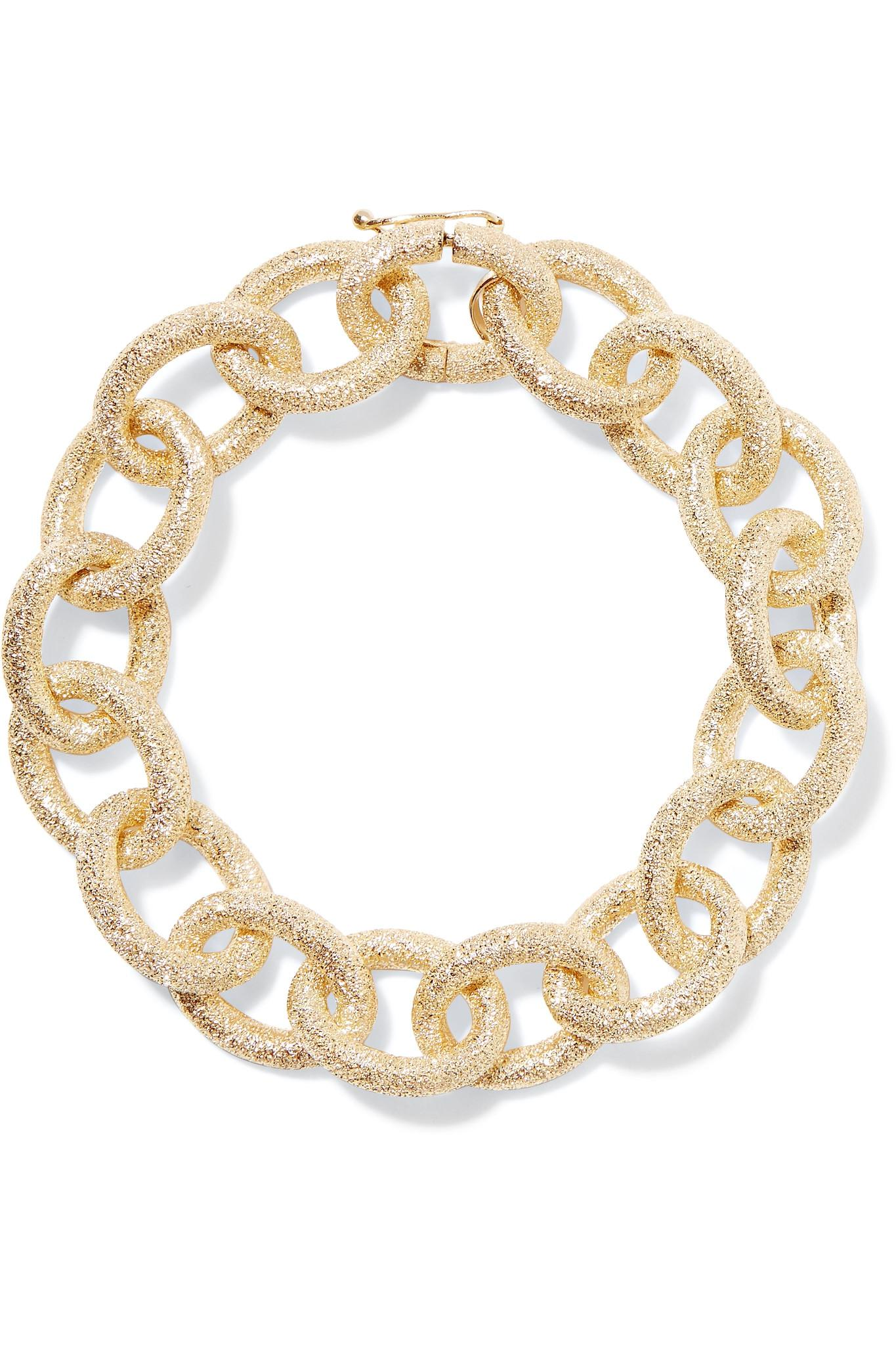 carolina karat florentine metallic in bucci gallery lyst jewelry bracelet gold