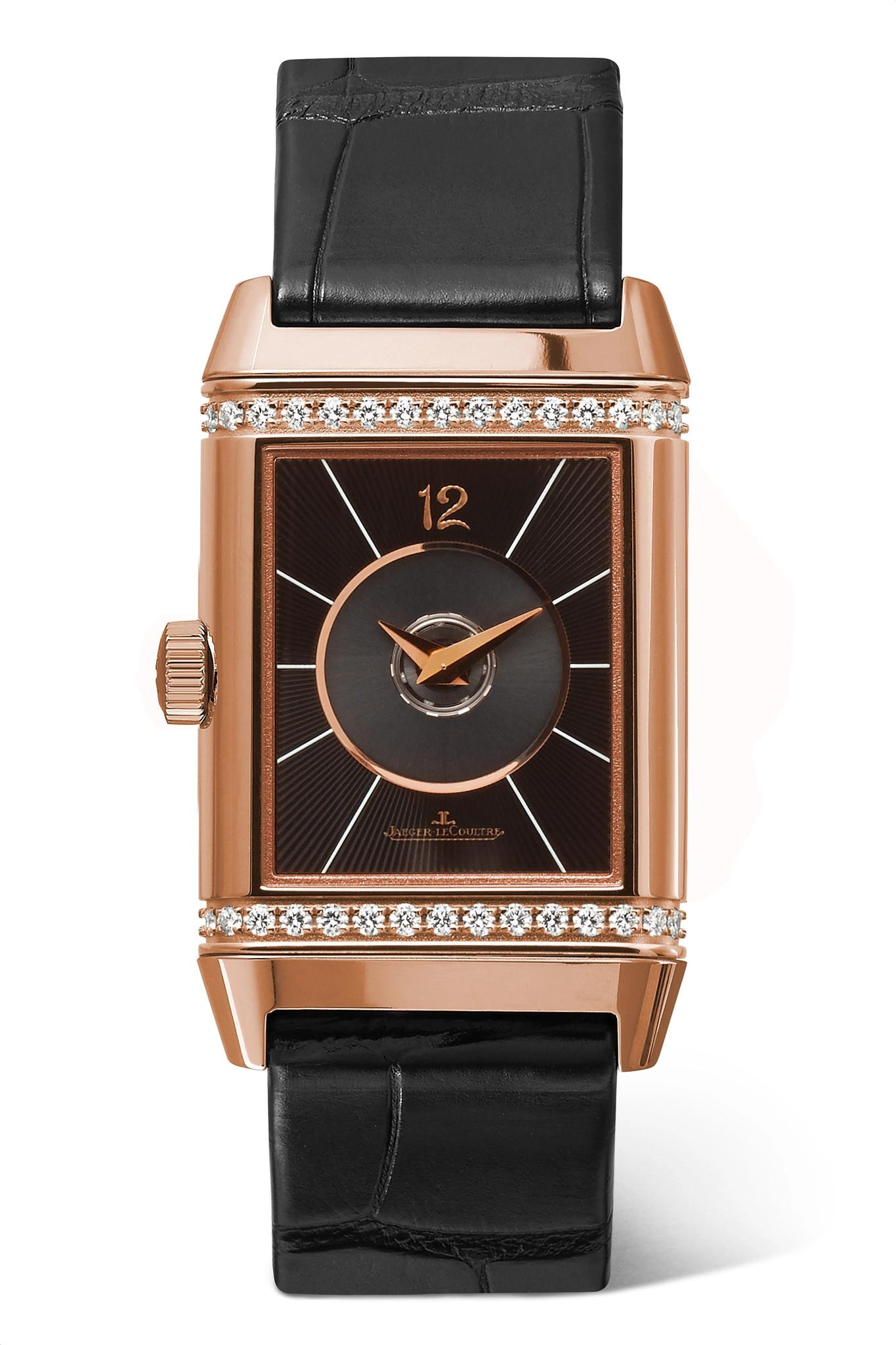 eb4be795452 Jaeger-lecoultre Reverso Classic Duetto 24.4mm Medium Rose Gold ...
