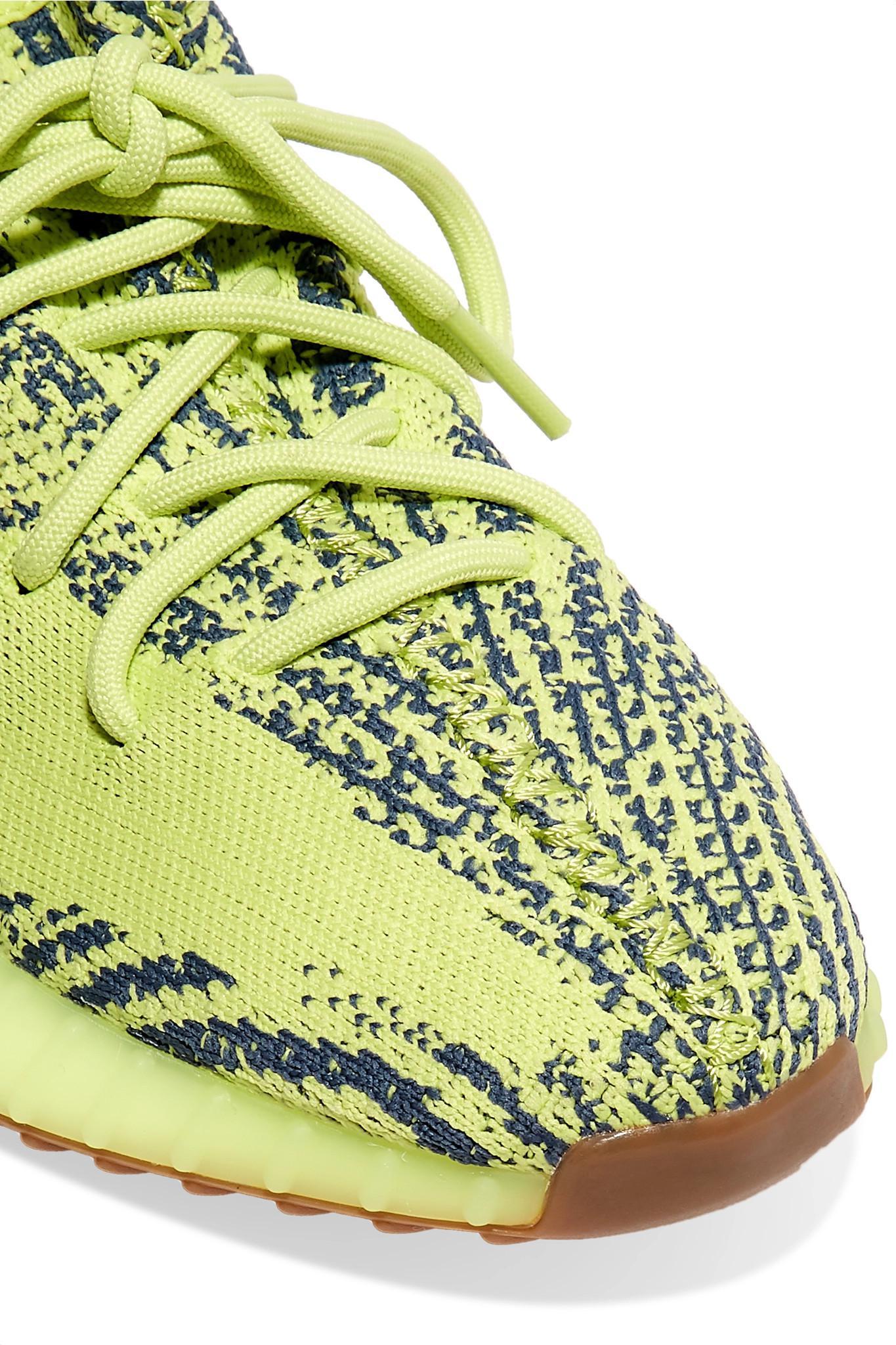 82c73426 adidas Originals Yeezy Boost 350 V2 Zebra-intarsia Primeknit ...