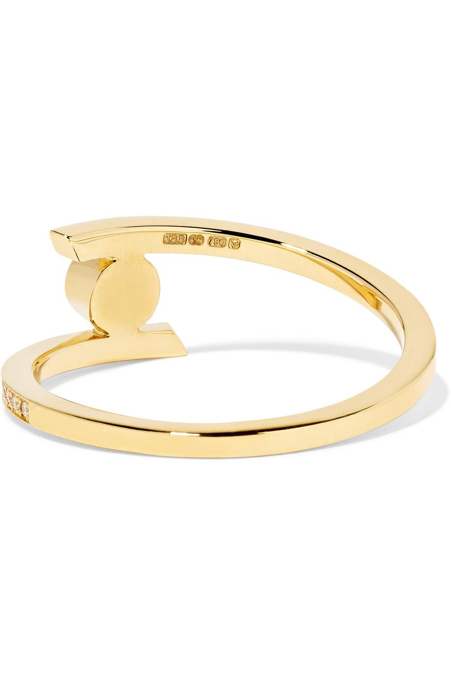 Sophie Bille Brahe Amour 18-karat Gold Diamond Ring MSGx61oBq
