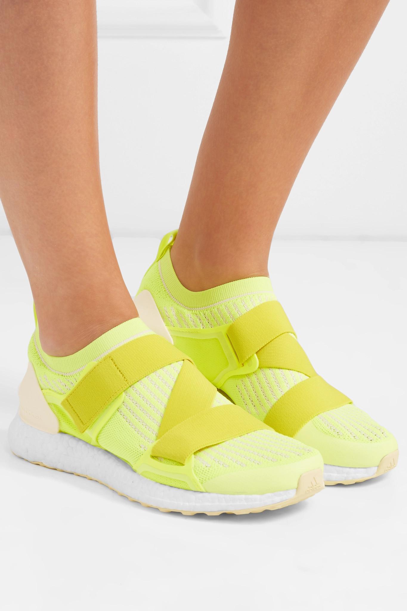 0bbf5b2219f Lyst - adidas By Stella McCartney Ultraboost X Neon Primeknit ...