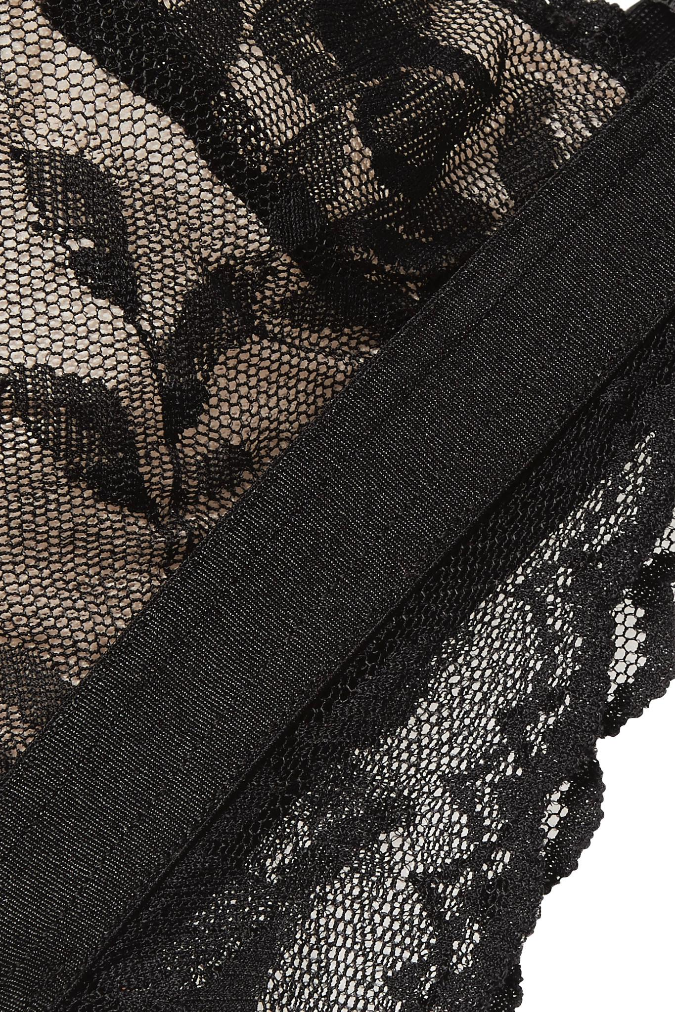 Seymour Stretch-lace Soft-cup Bra - Black Cosabella Cheap Sale Get To Buy Original Cheap Online f5qZhb
