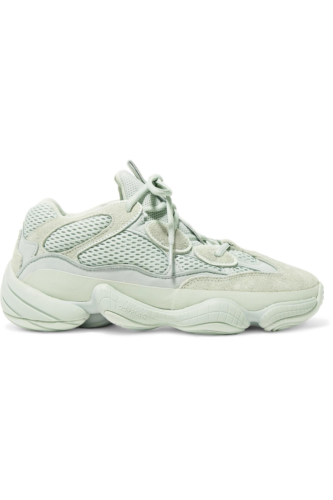 5fbd84e7f06 Lyst - adidas Originals Yeezy 500 Leather