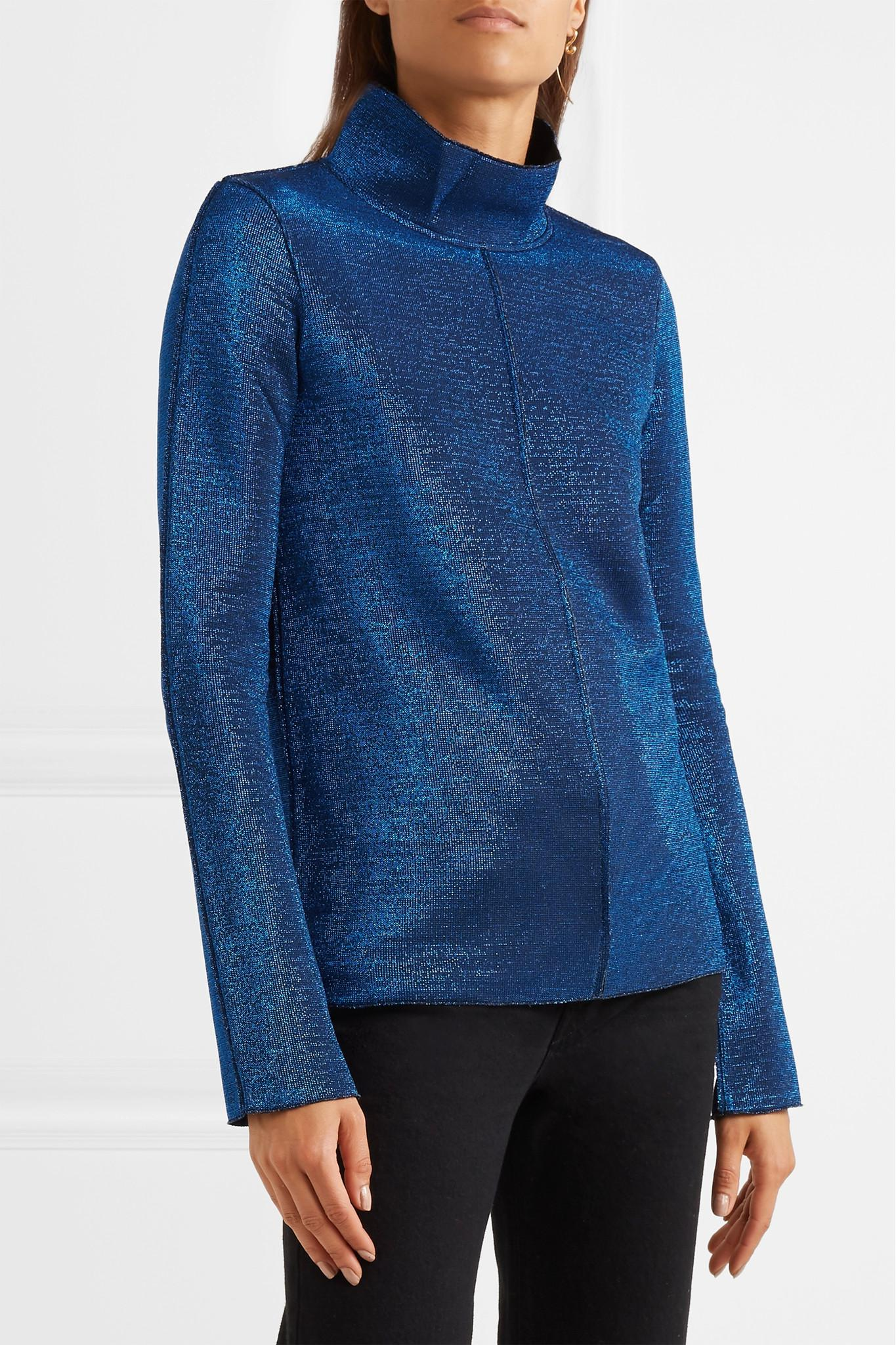 Exclusive Discount Best Place Diana Metallic Knitted Top - Blue Golden Goose Latest Sale Largest Supplier Pictures Cheap Price O3i9TkhPWR