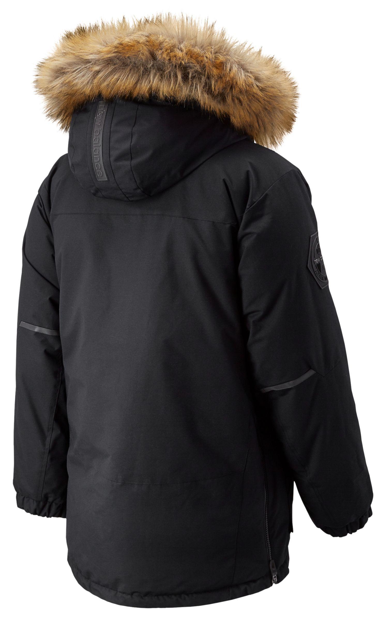 Lyst New Balance Patrol Down Jacket In Black For Men