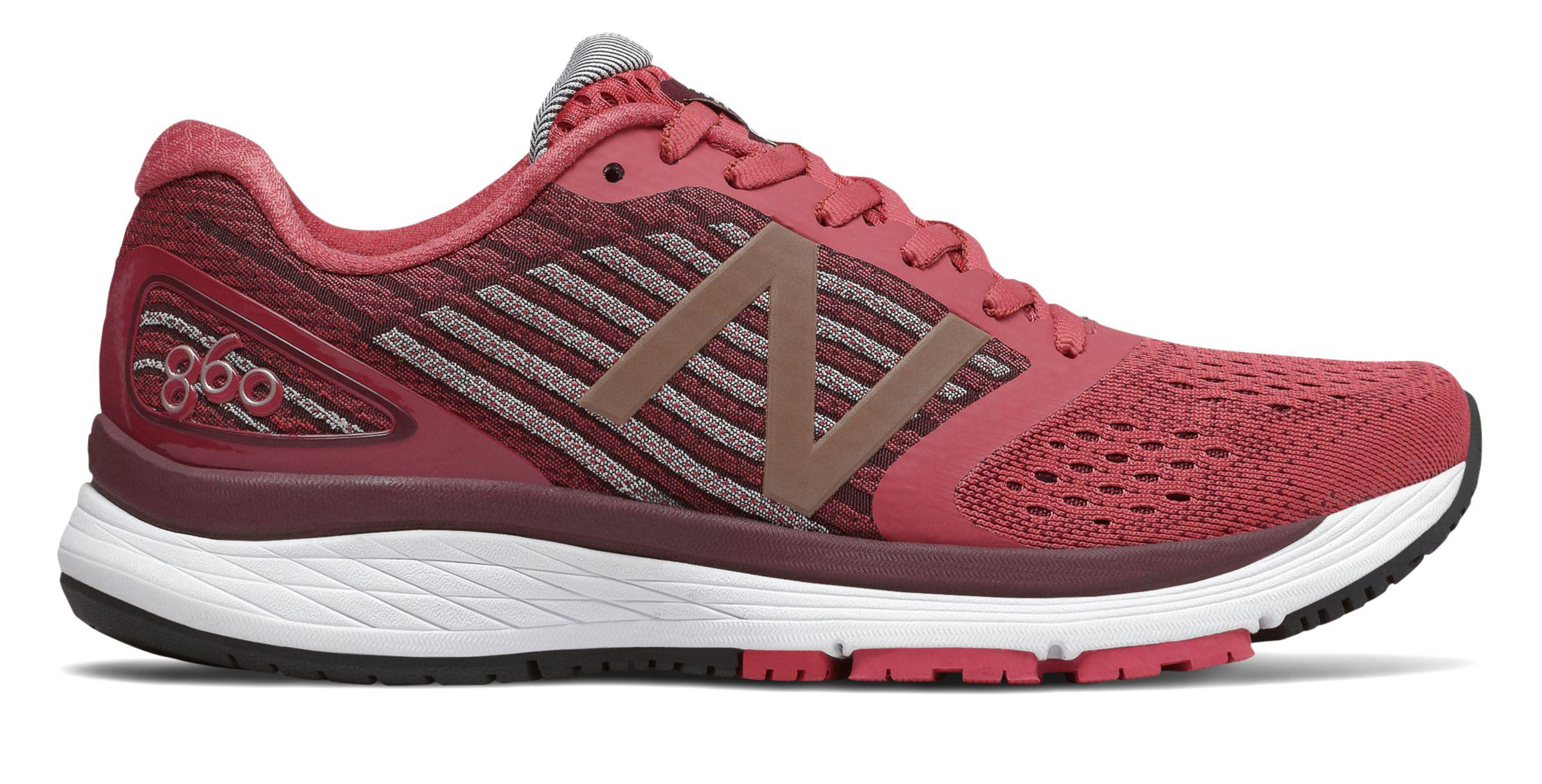 sports shoes 48e5f efdb8 New Balance 860v9 in Red - Lyst