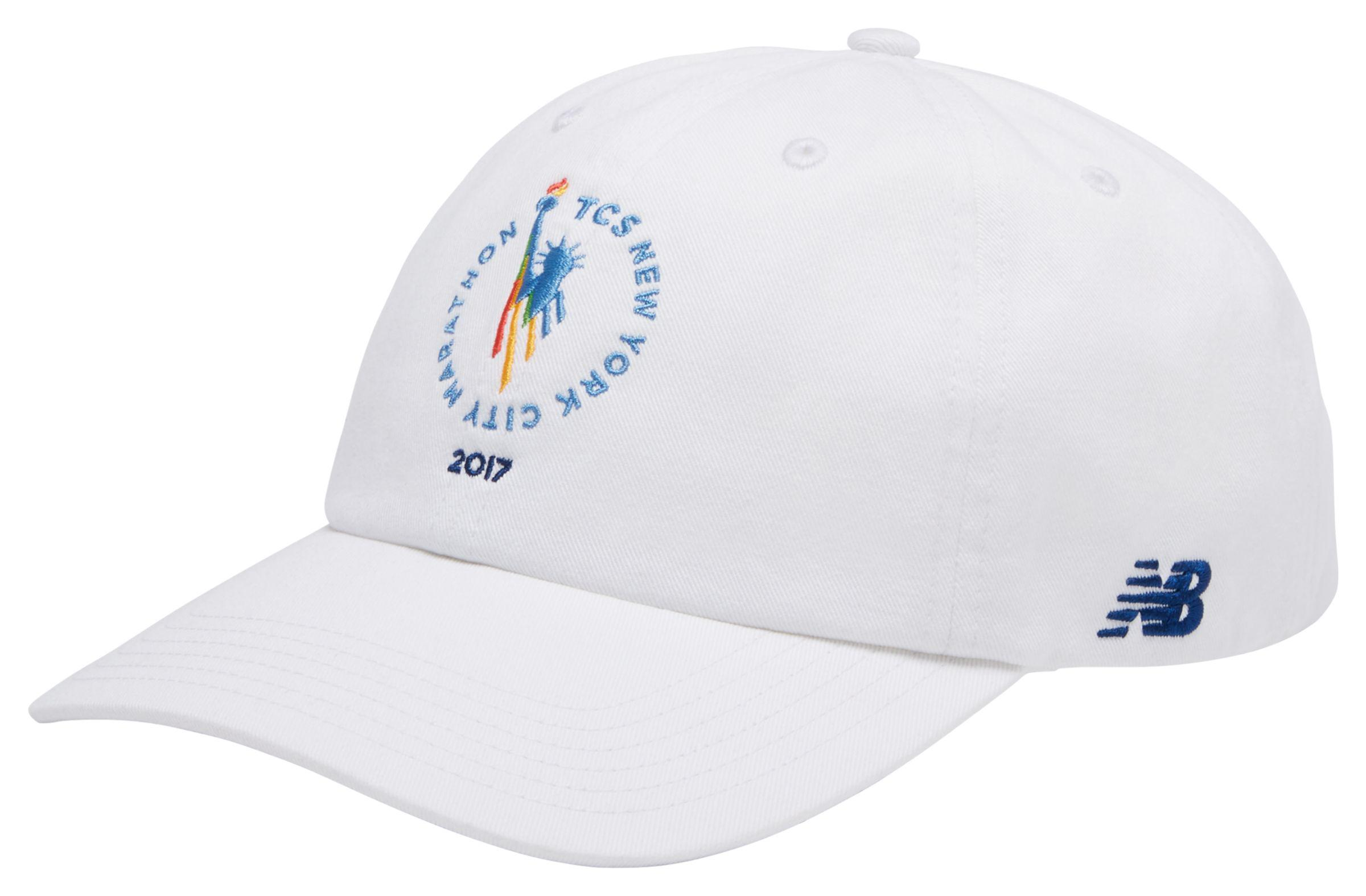 2d27657bdeaa4 Lyst - New Balance Nyc Marathon 6 Panel Curved Brim Finisher Cap in ...
