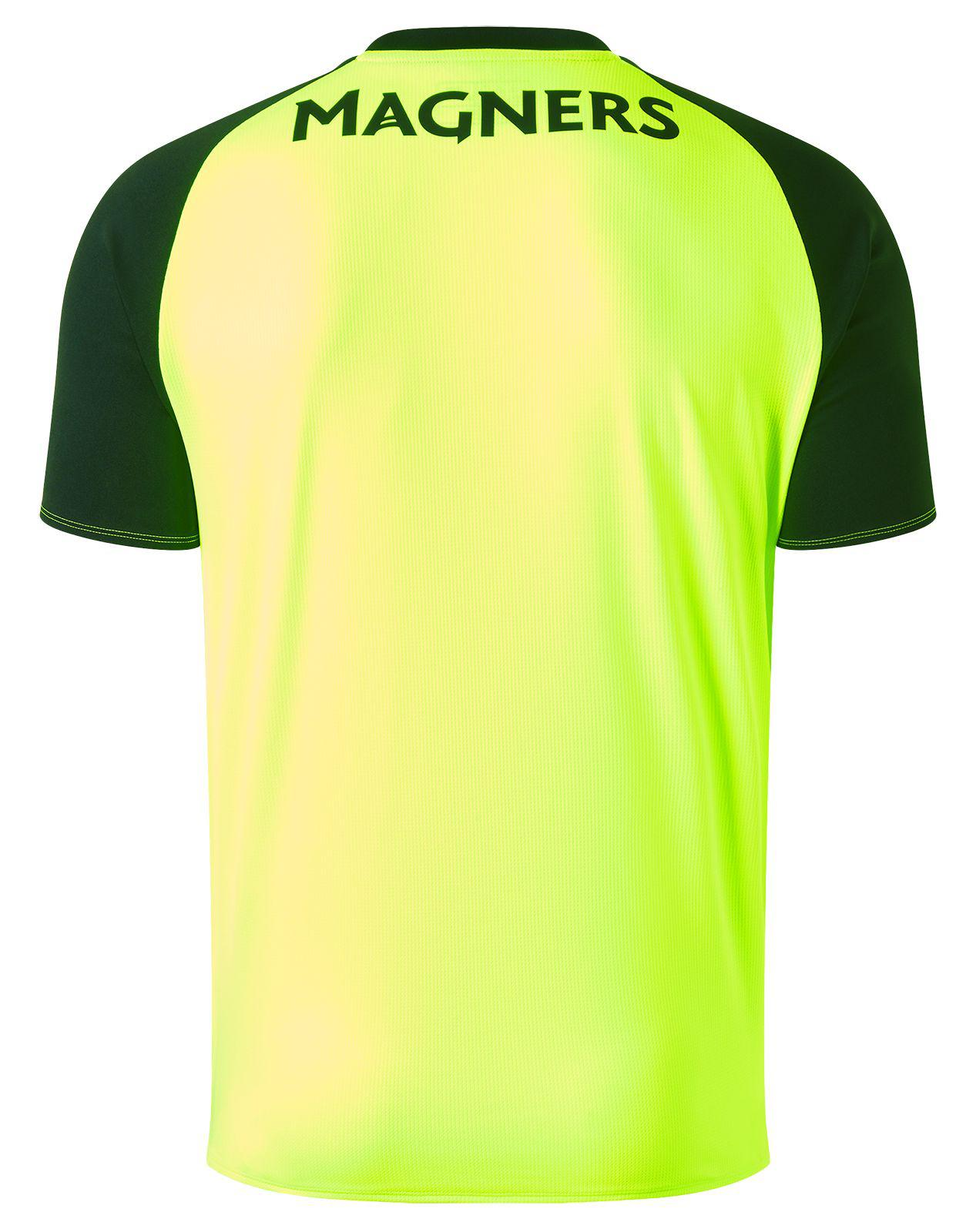 675497c757e Lyst - New Balance Celtic Fc 3rd Short Sleeve Jersey in Black for Men