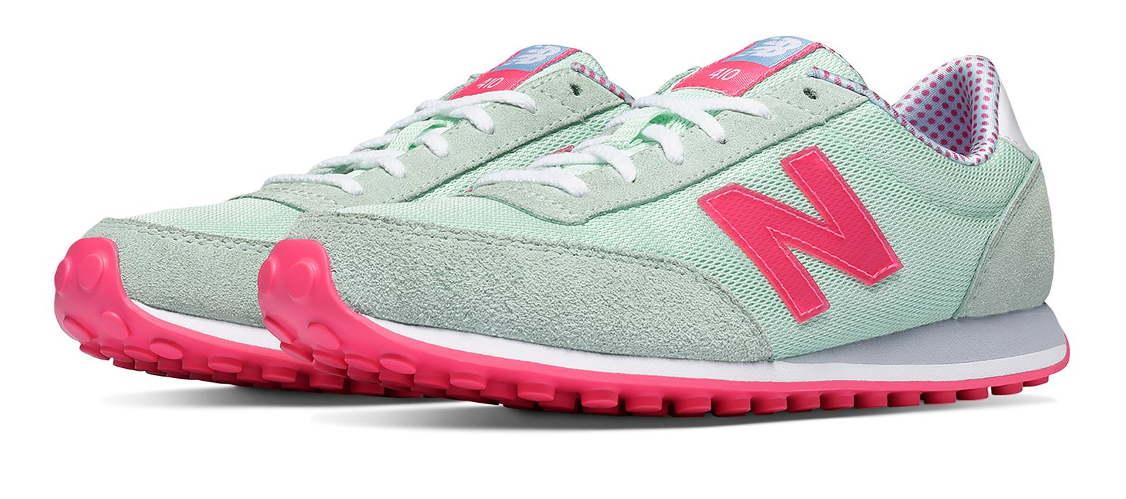 new balance 373 grey with teal and pink