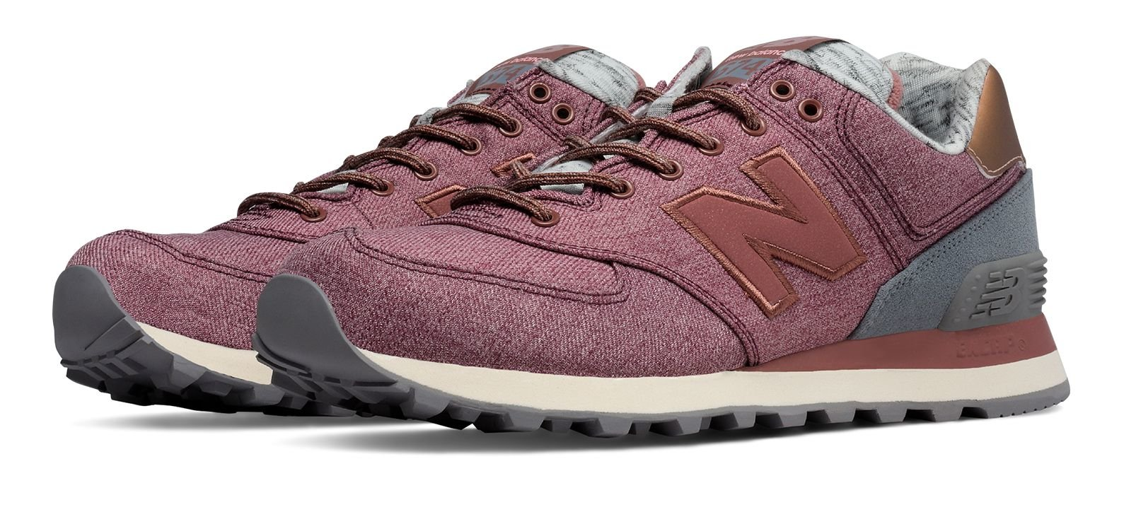 new balance 574 metallic rose gold