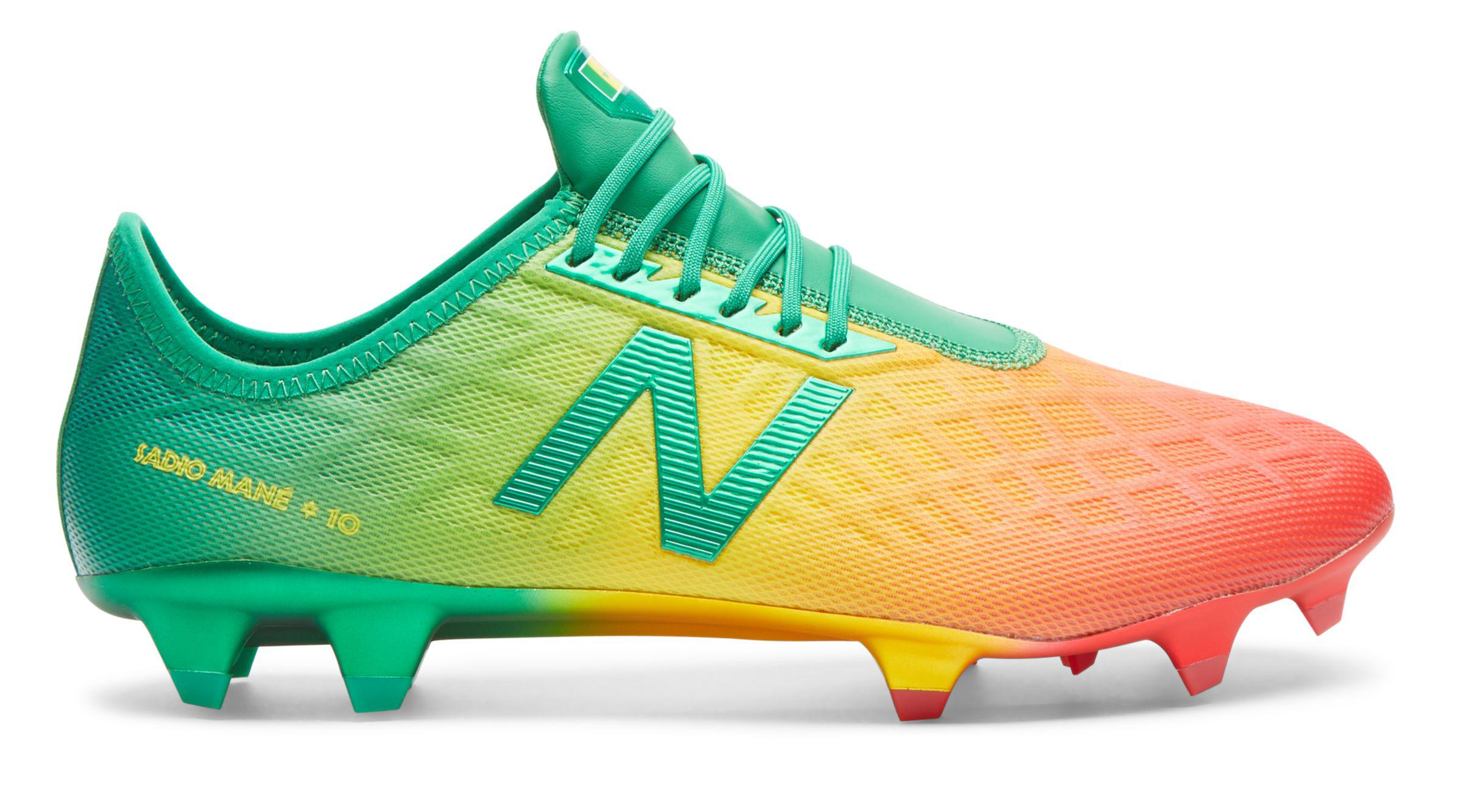 a28269d1893b New Balance Sadio Mane Furon 4.0 Bambaly Edition in Yellow for Men ...