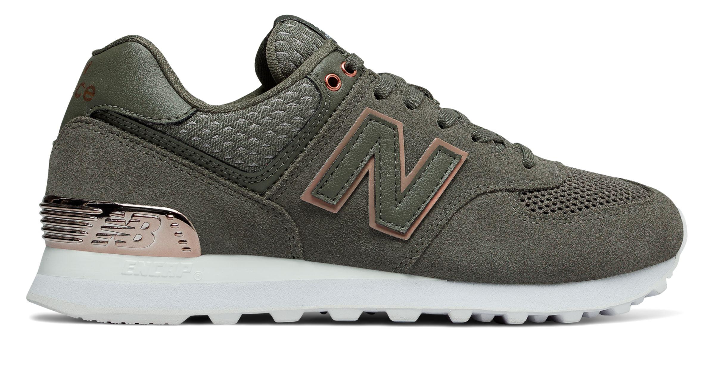 new balance gris or rose