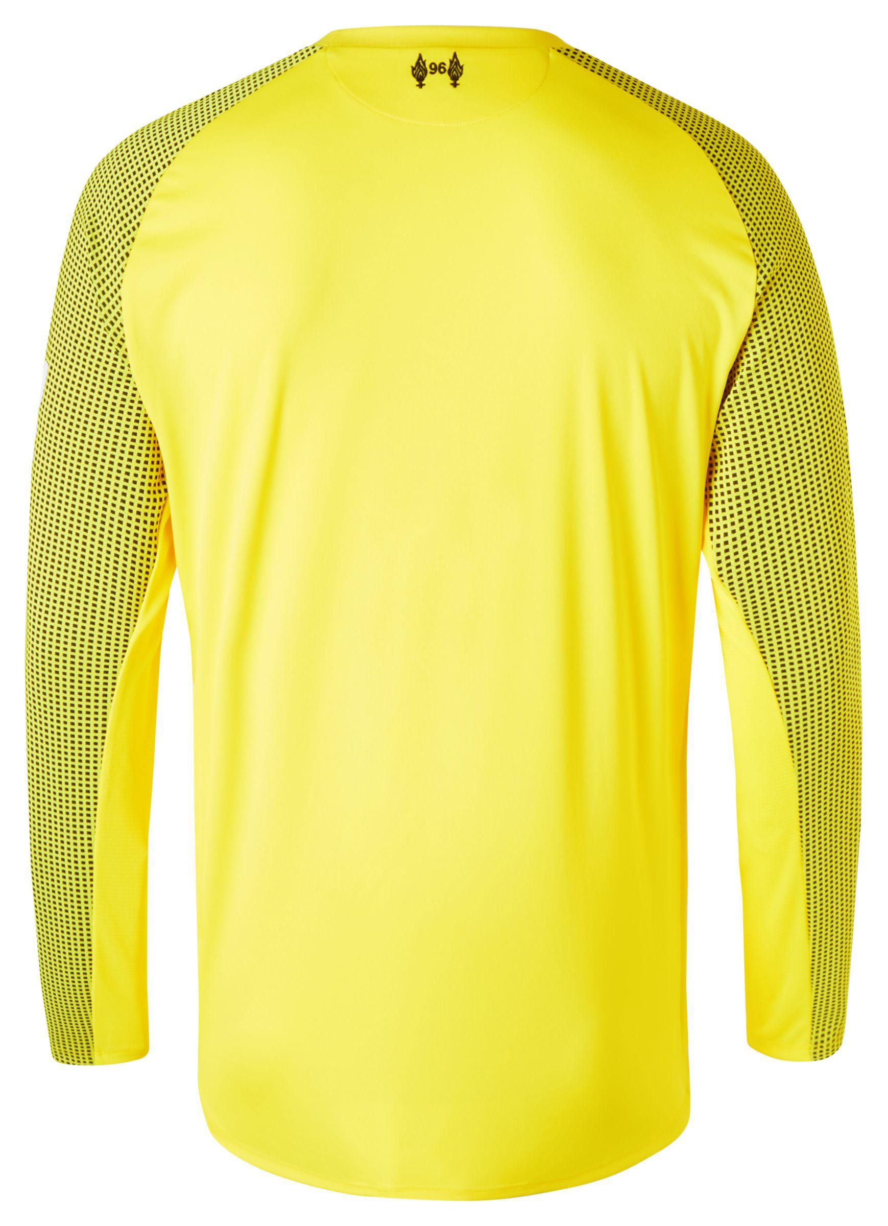 6aa476f9d New Balance - Yellow Lfc Home Gk Long Sleeve Jersey for Men - Lyst. View  fullscreen