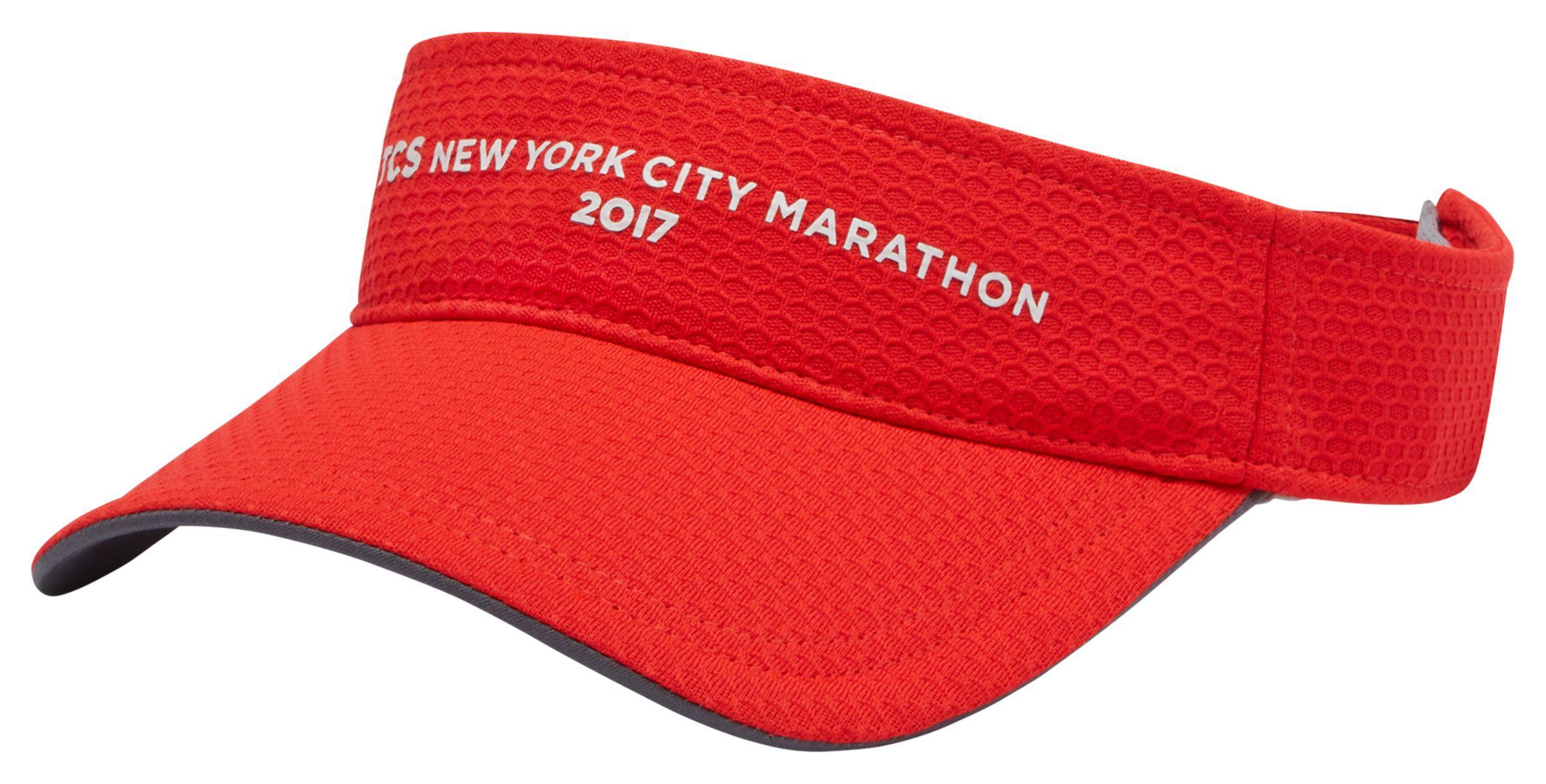 eb0b86a3653 Lyst - New Balance Nyc Marathon Performance Visor in Red for Men