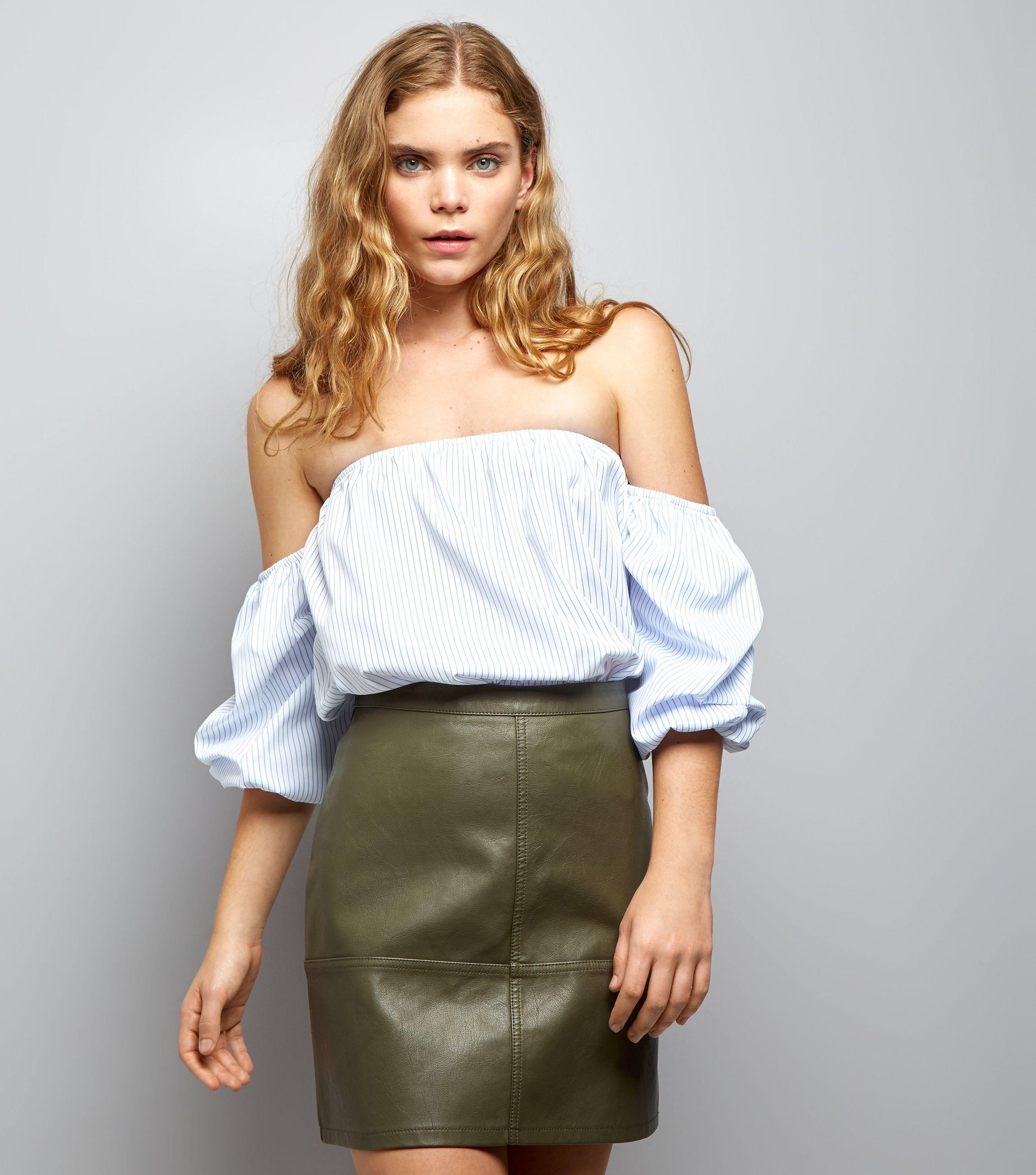 a30a14f2a New Look Leather Look Skirt – DACC