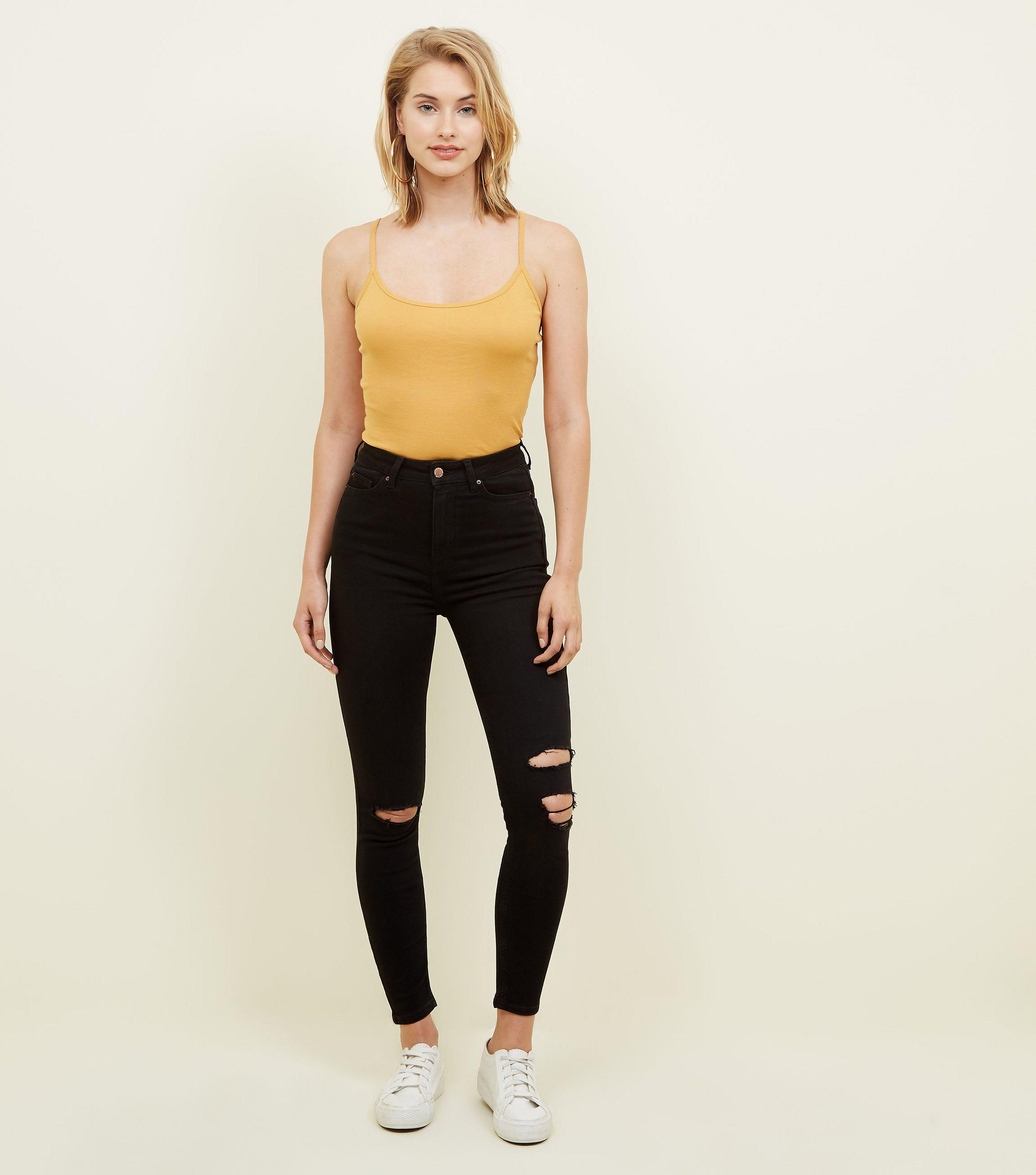 8f19b74e33343 Gallery. Previously sold at  New Look · Women s Black Skinny Jeans Women s High  Waisted ...