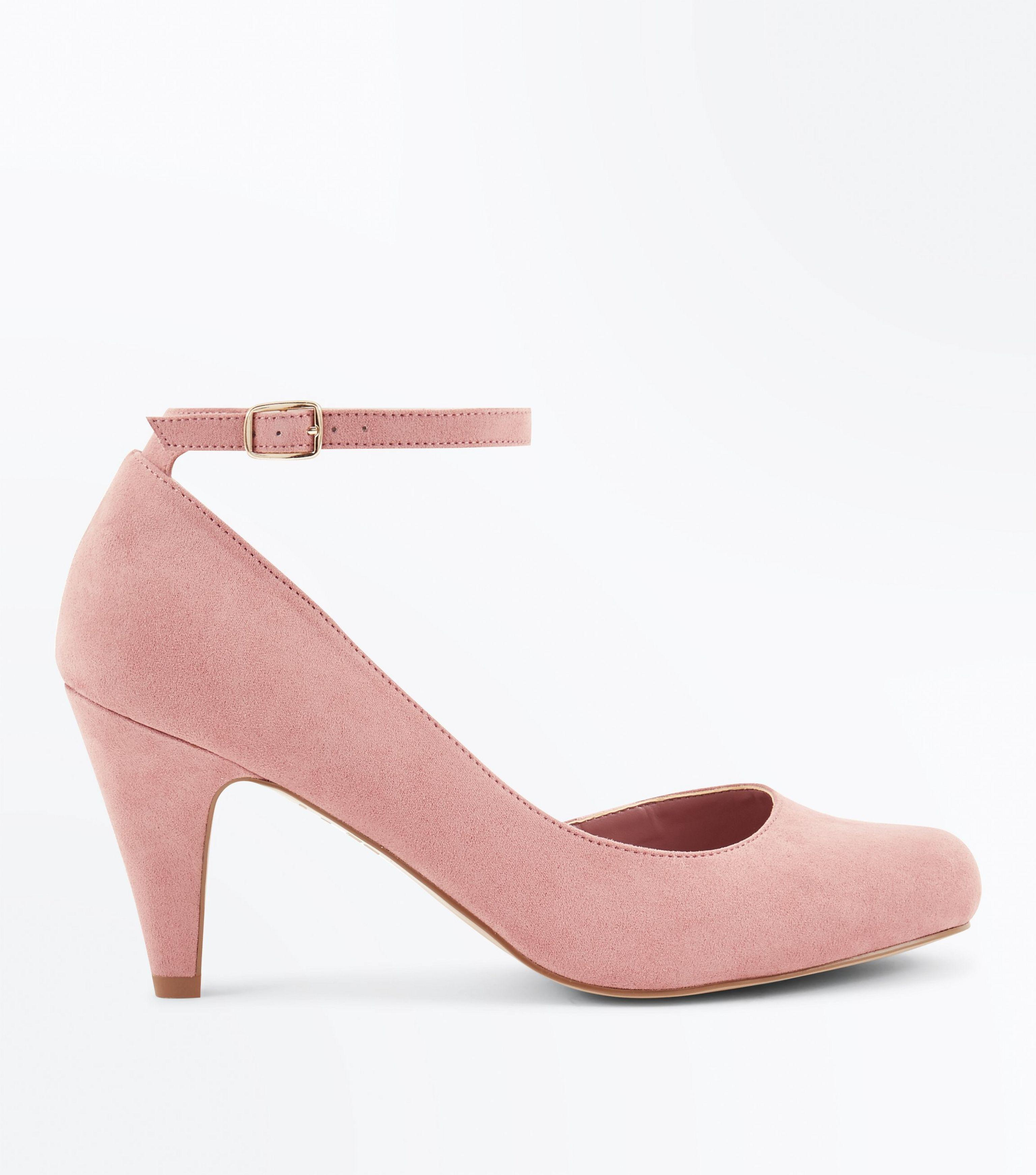 Extra Wide Fit Suedette kitten heel pointed court shoes cheap sale sneakernews 2bw1ArC8