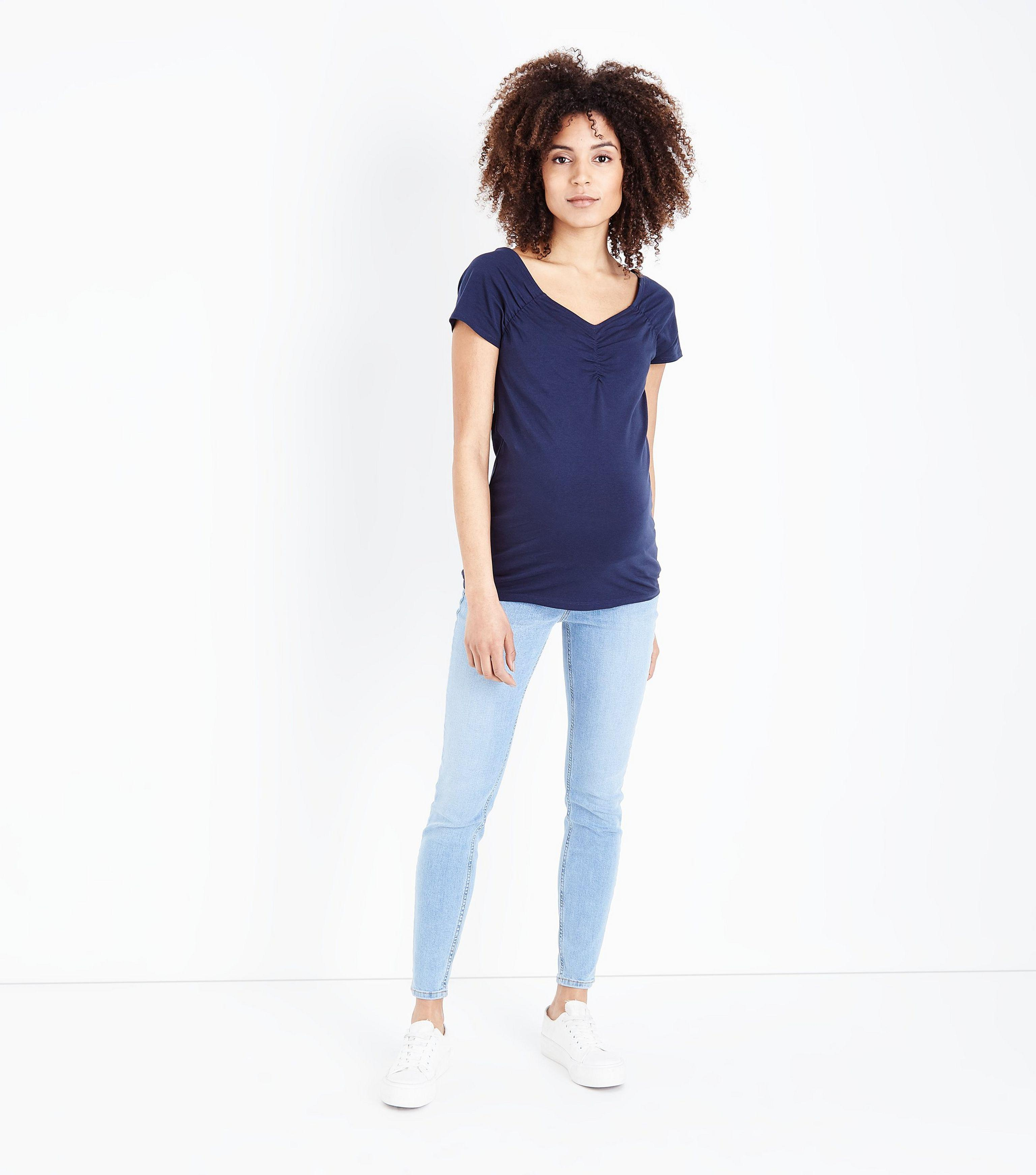 403df49e9dc4d Gallery. Previously sold at: New Look · Women's Maternity Jeans ...