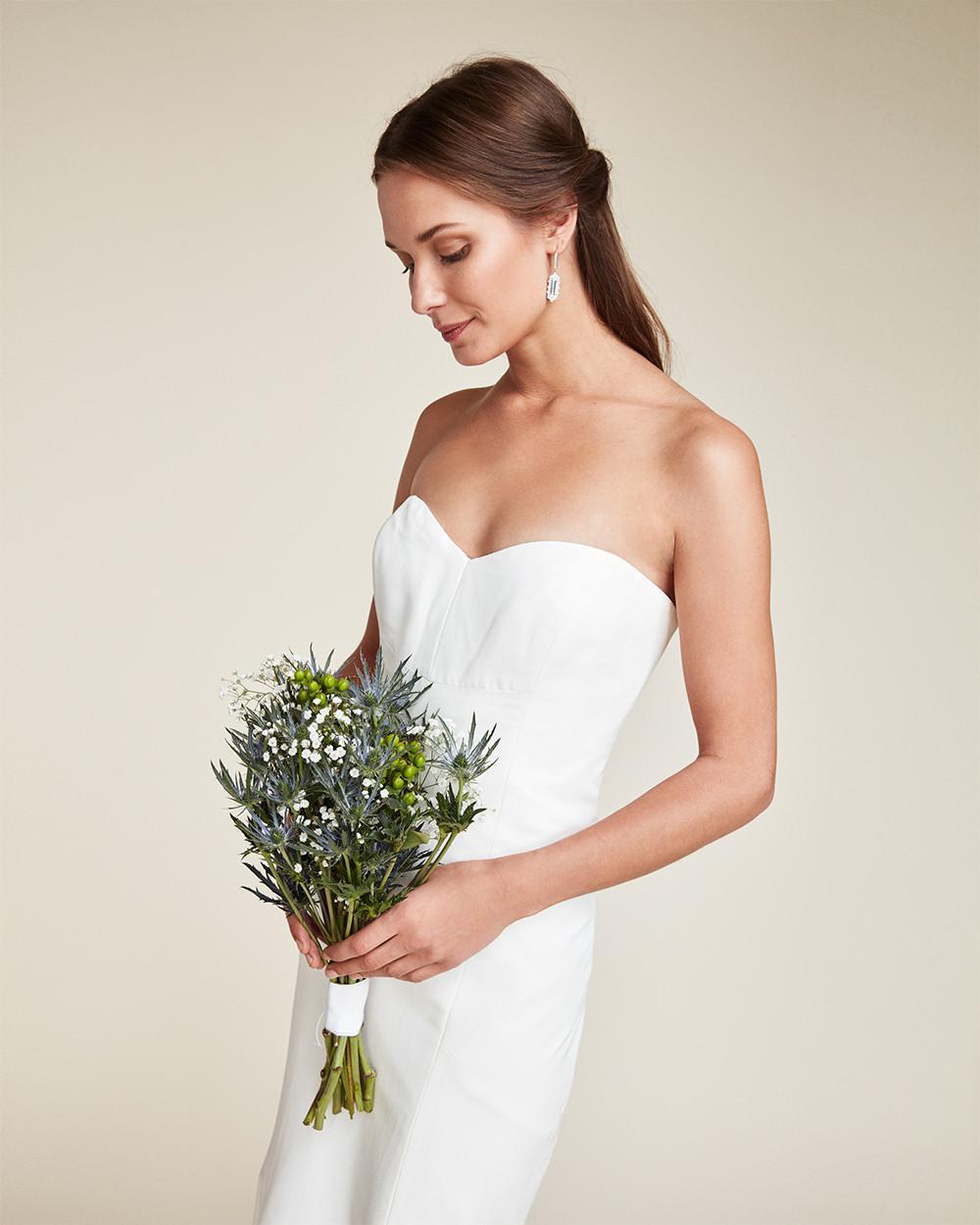 Lyst - Nicole Miller Dakota Bridal Gown in White