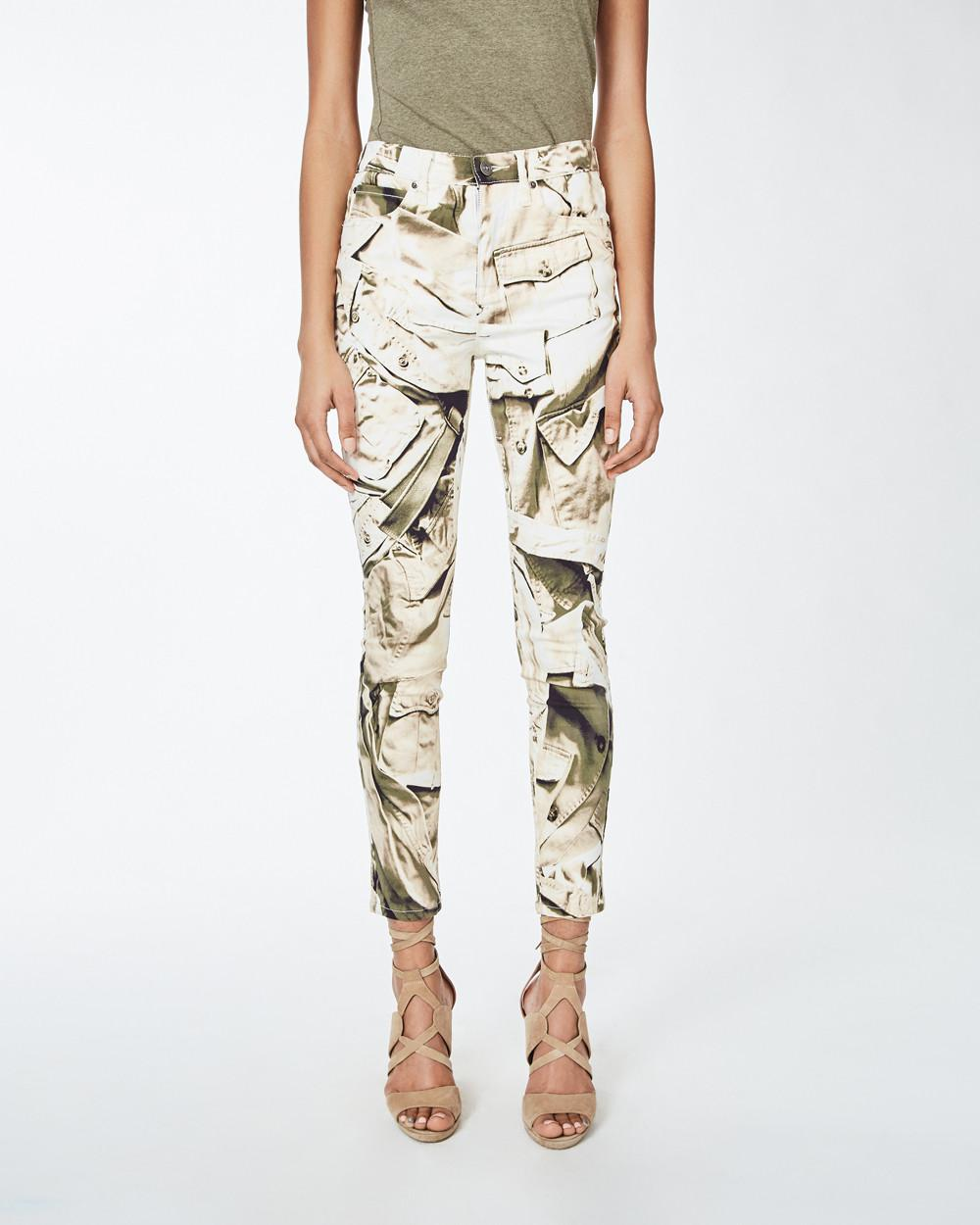 Official Site Cheap Price Recommend For Sale Nicole Miller safari camoflage trousers Cheap Sale For Nice nszT48
