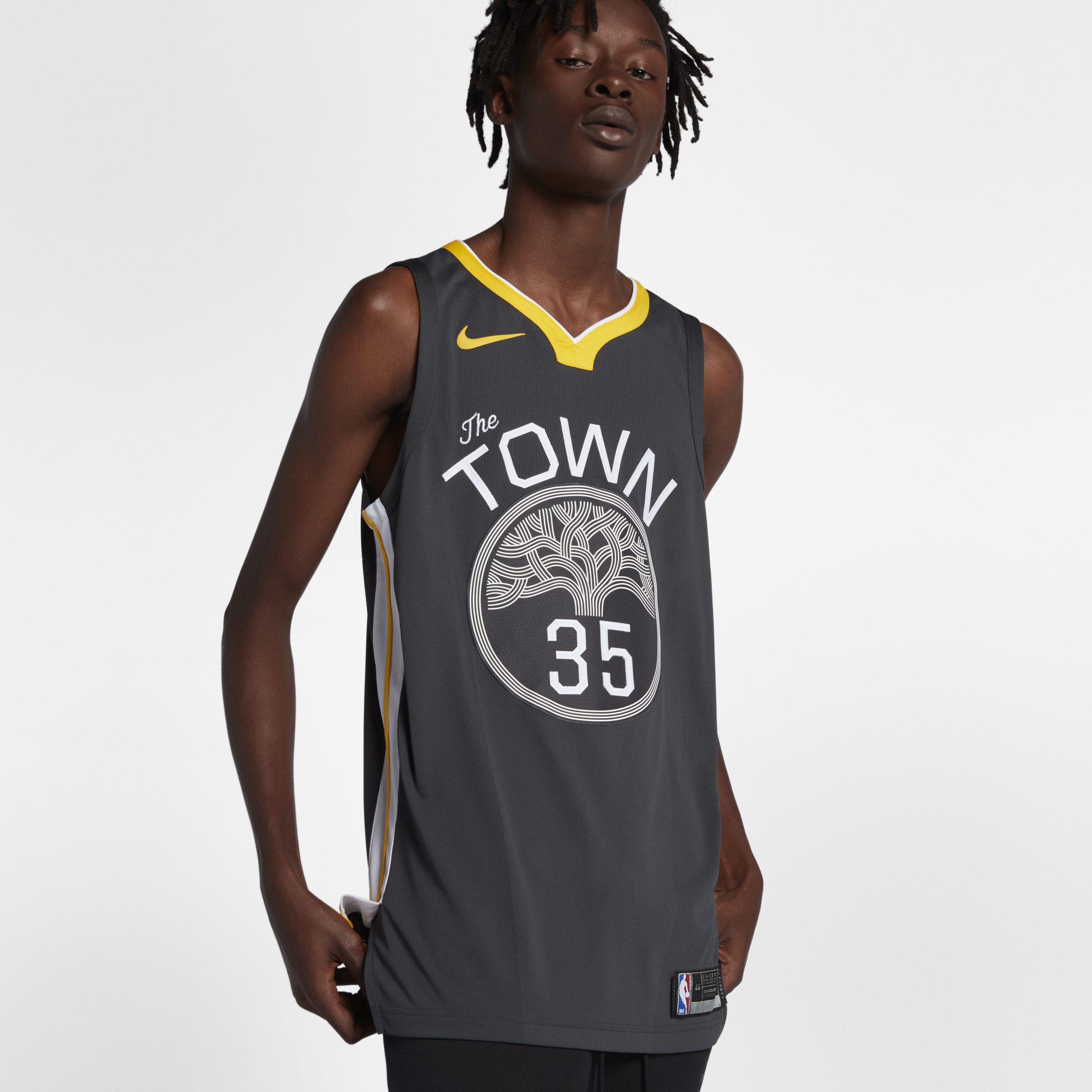 1a2100686 Nike. Black Kevin Durant Statement Edition Authentic (golden State Warriors)  ...
