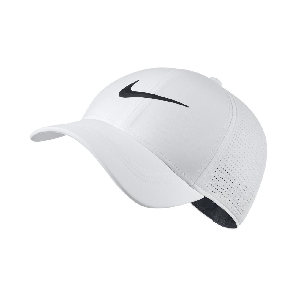 be59d8b1c580a Lyst - Nike Aerobill Legacy 91 Fitted Golf Hat in White for Men