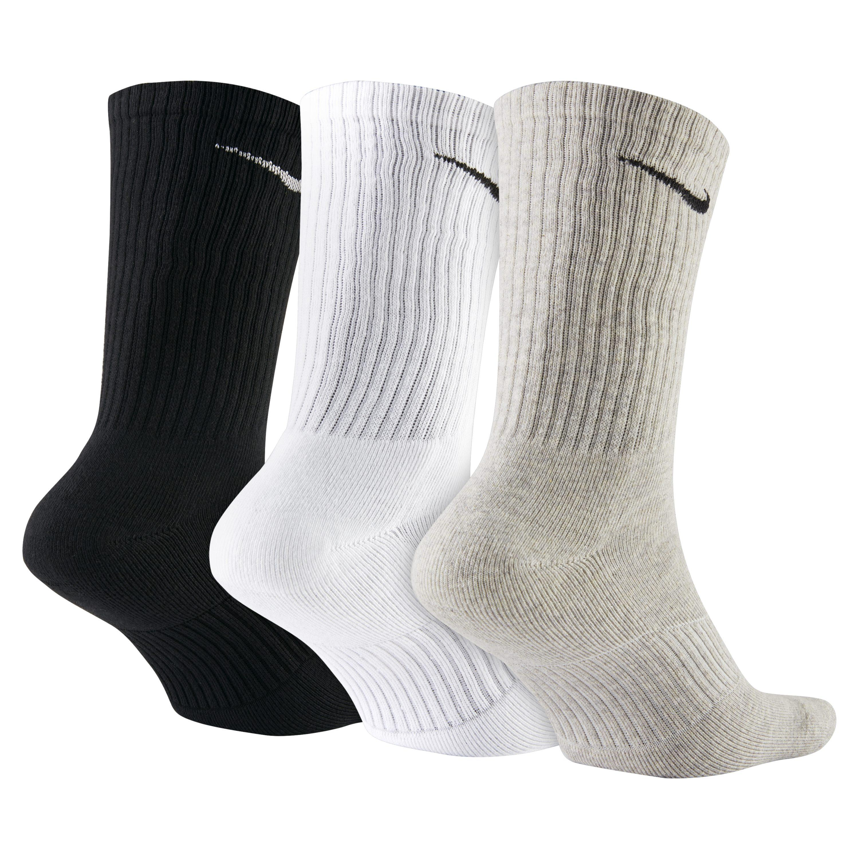 a85c4819a08e Nike - Multicolor Cotton Cushion Crew Socks (3 Pair) for Men - Lyst. View  fullscreen