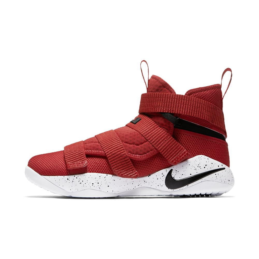 2221ed7d28dd Nike Lebron Soldier Xi Flyease (extra-wide) Basketball Shoe in Red ...