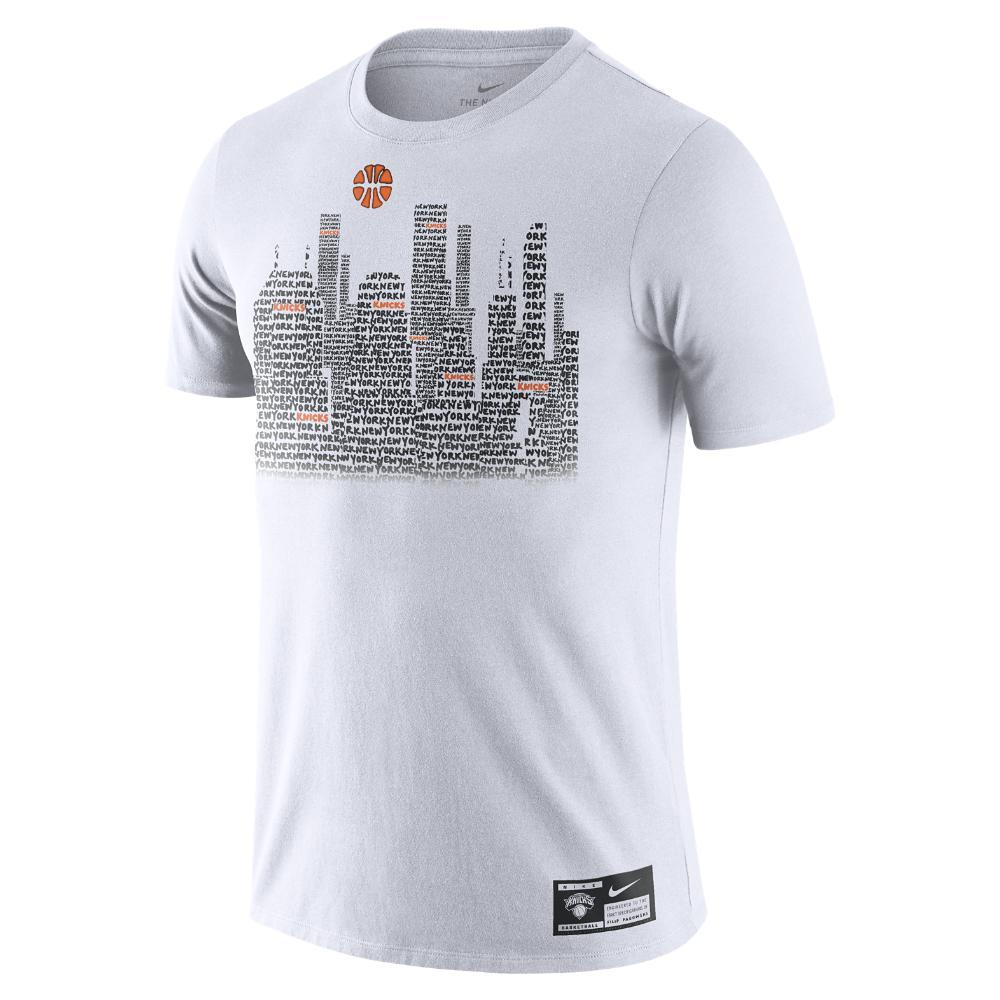 Lyst - Nike New York Knicks X Filip Pagowski Men s Nba T-shirt in ... 85a090ce7