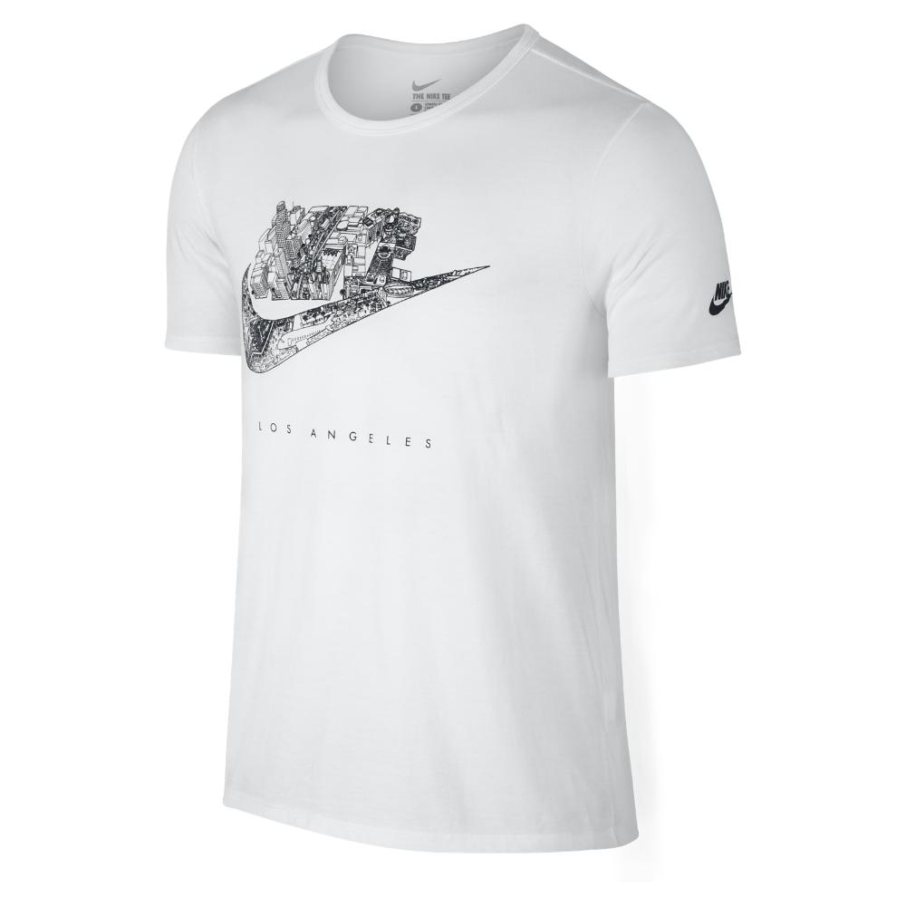nike futura city los angeles men 39 s t shirt in white for