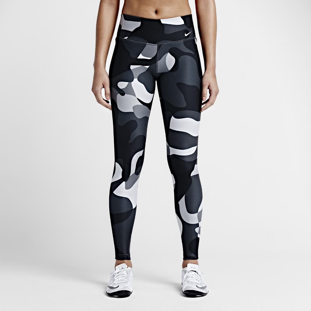 7f12b601cd6186 Lyst - Nike Legend 2.0 Mega Liquid Tight Women's Training Tights in ...