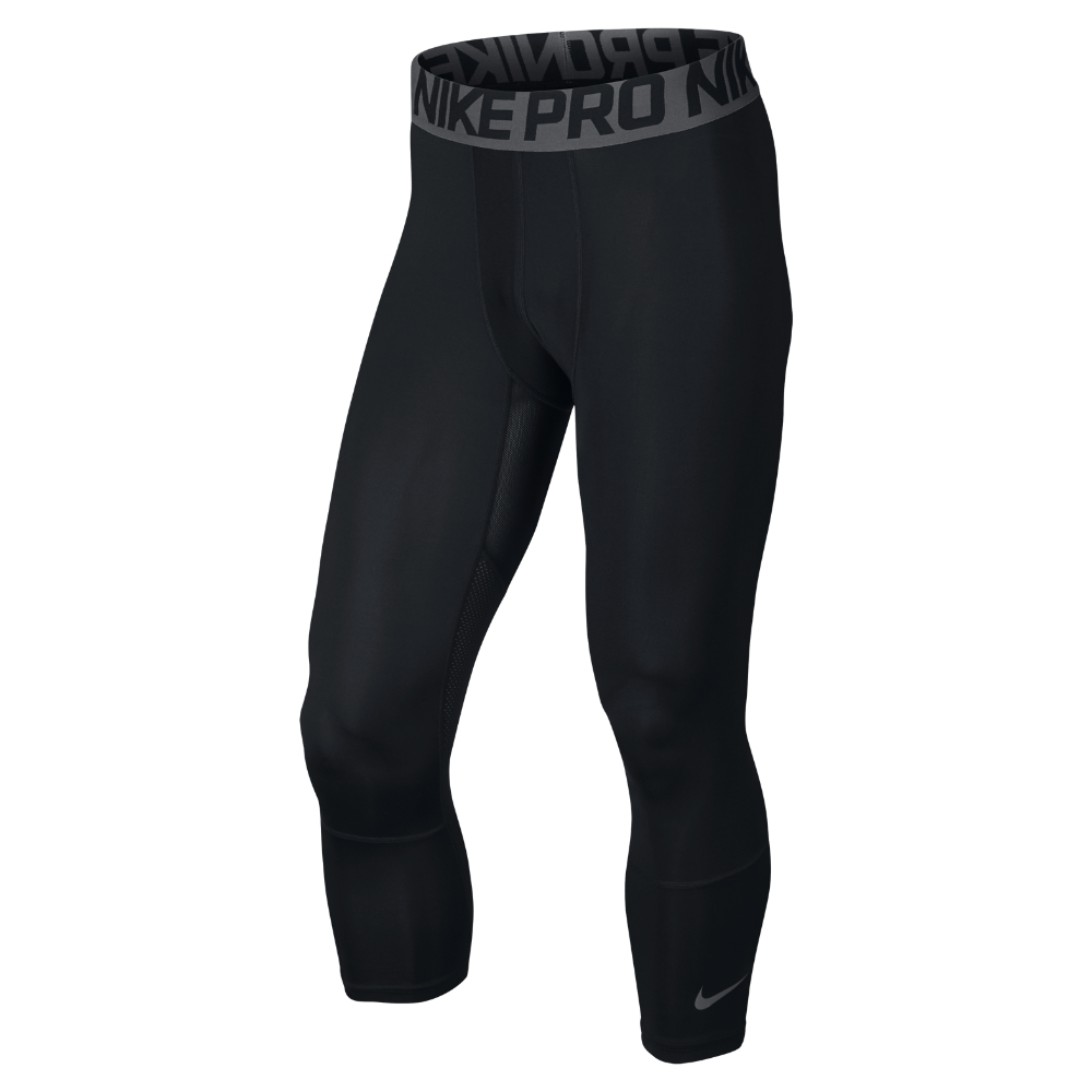 Nike Three-quarter Menu0026#39;s Basketball Tights in Black for Men | Lyst