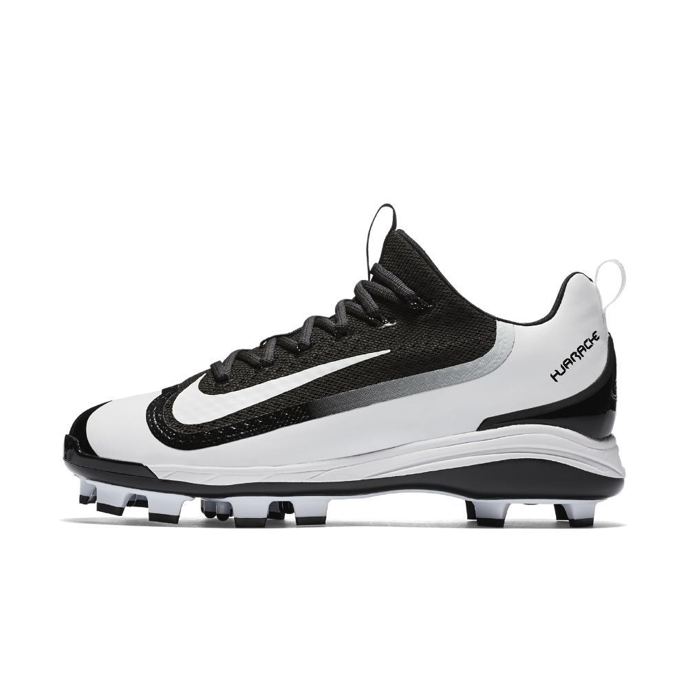the best attitude 139b0 183da Nike Air Huarache 2kfilth Mcs Elite Men s Baseball Cleats in Black ...