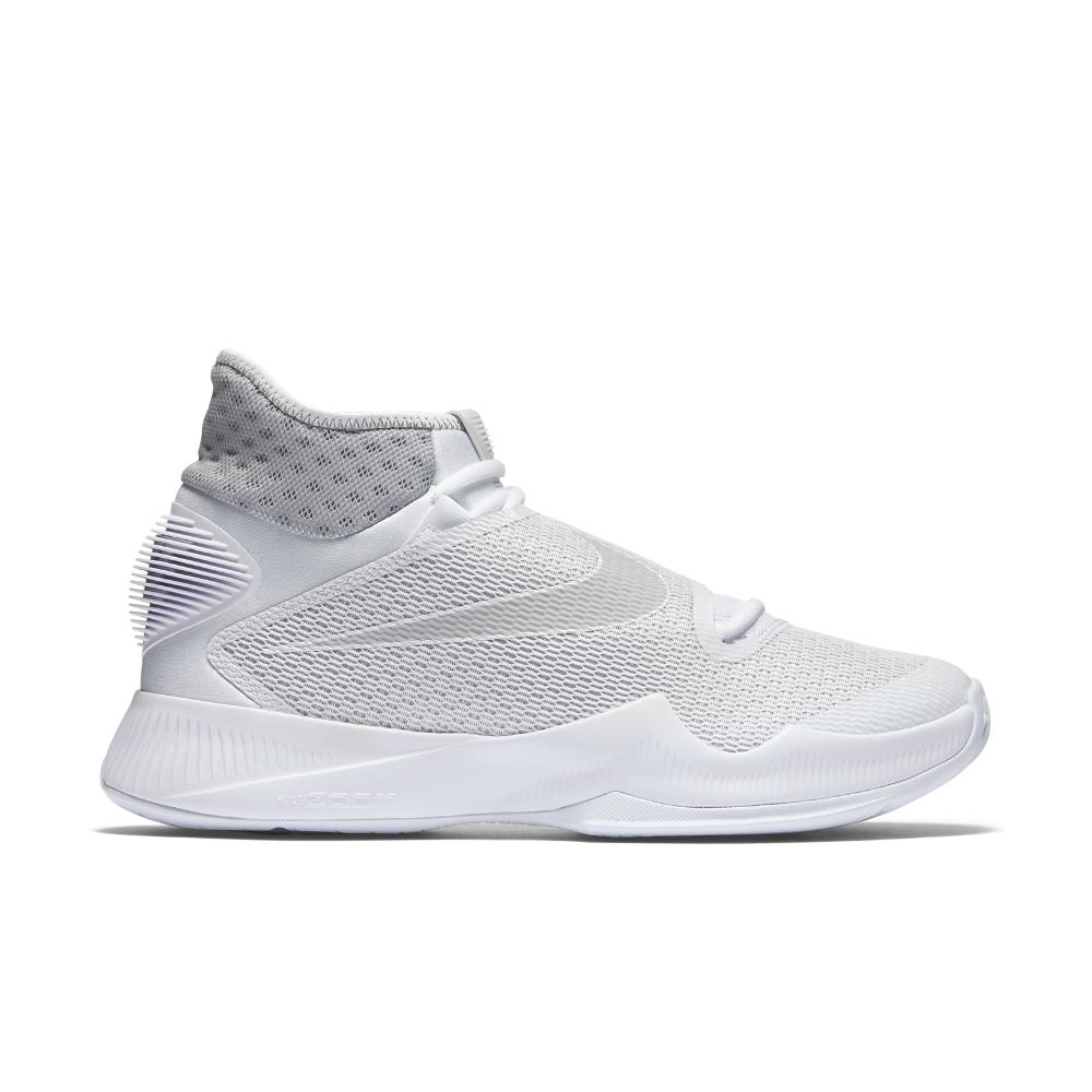 buy popular 0dbf2 6a424 ... best grey midnight navy nike zoom hyperrev 2016 basketball shoe mens  sizing in white b49b7 09937
