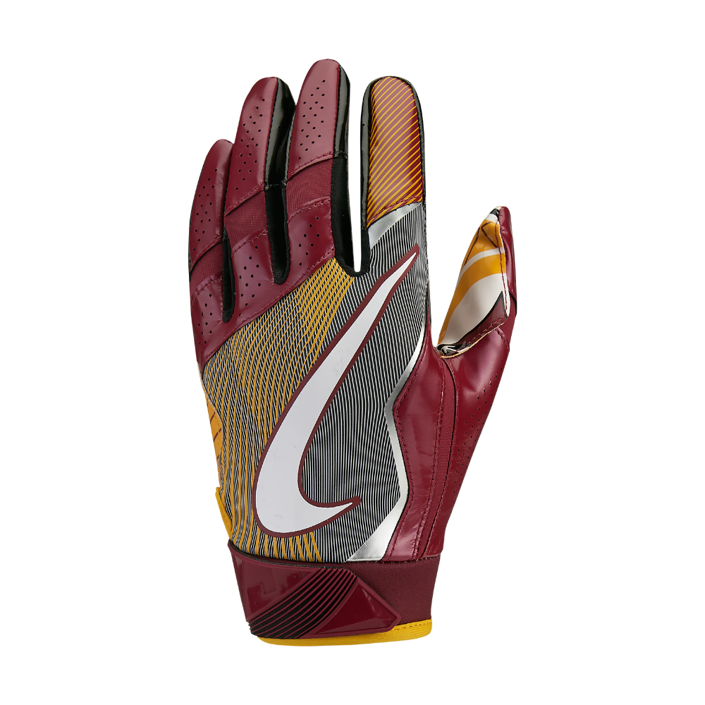 Nike Football Gloves: Nike Vapor Jet 4 (nfl Redskins) Men's Football Gloves In