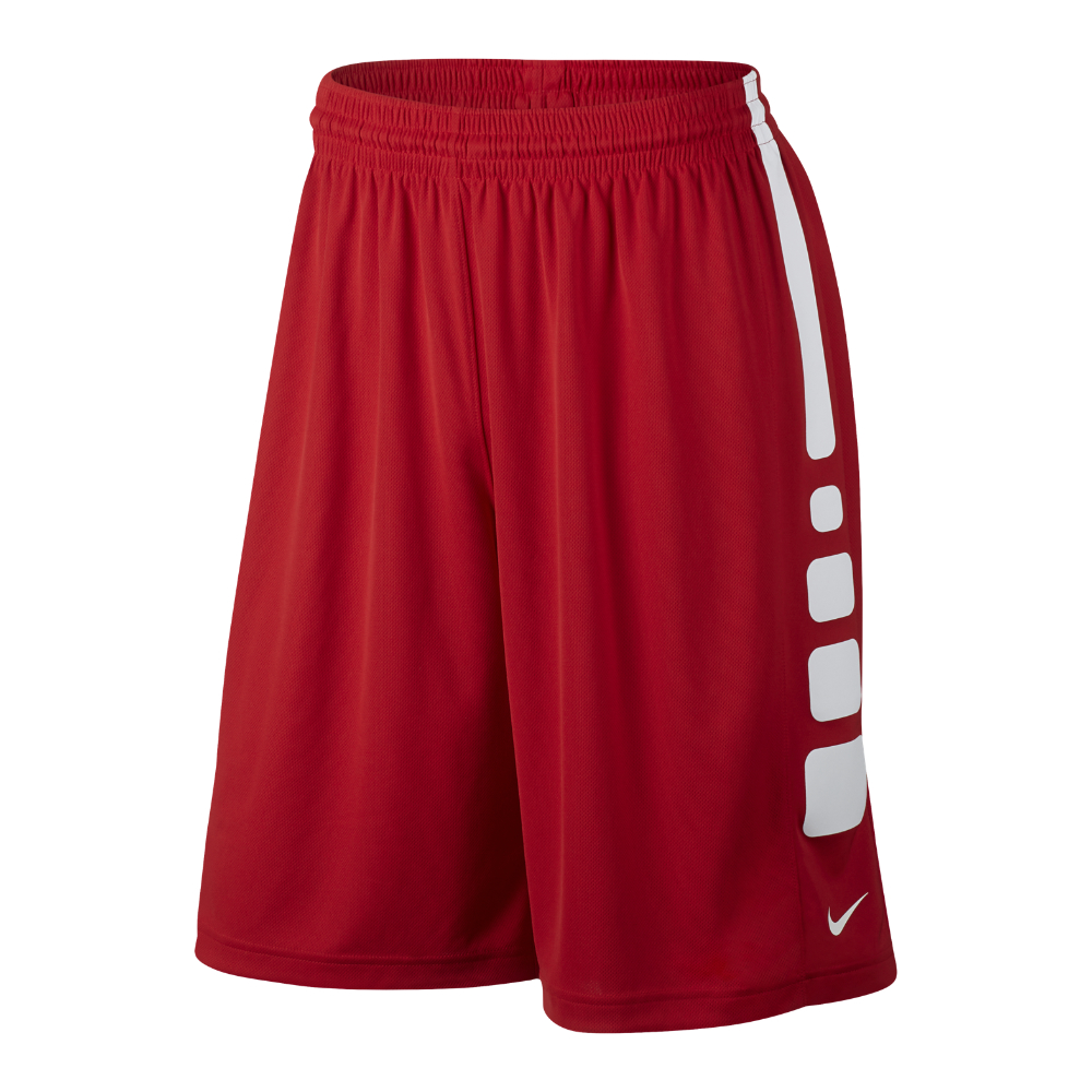 nike practice elite men 39 s 11 basketball shorts in red for