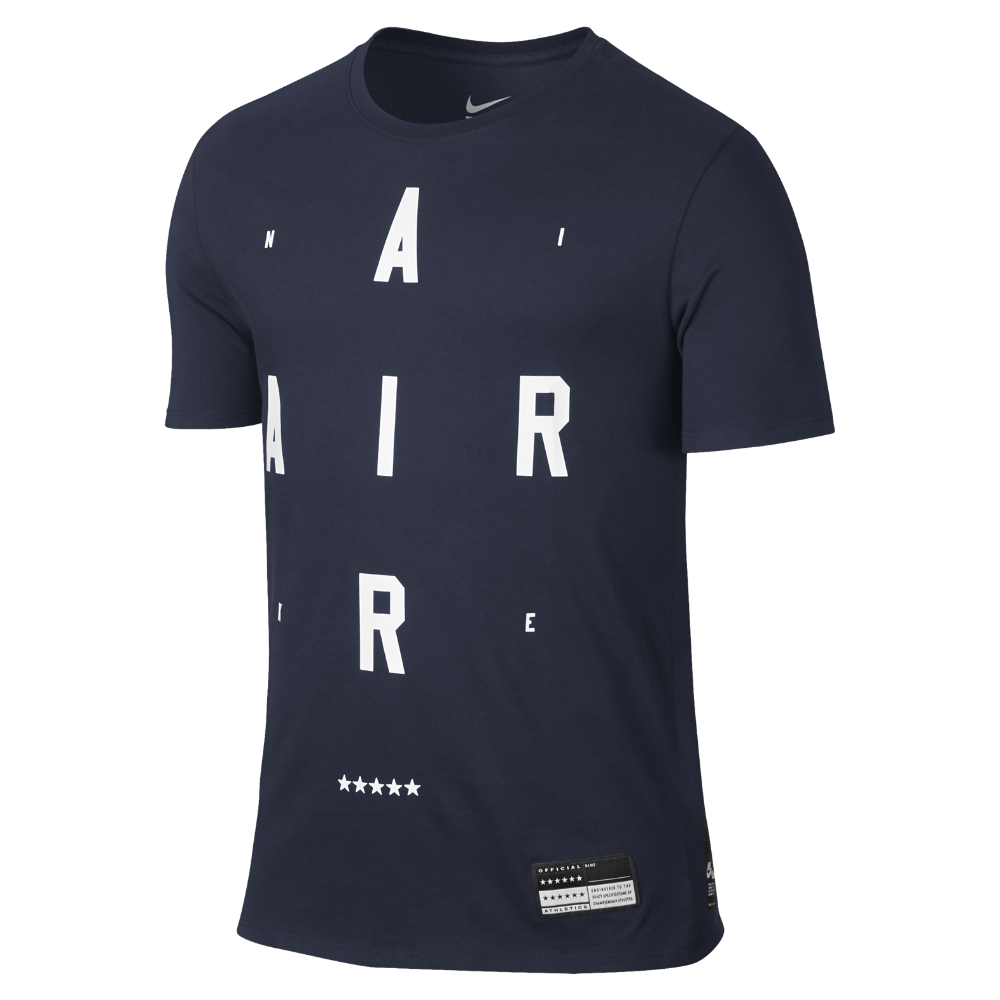 Lyst Nike Air Men 39 S T Shirt In Blue For Men