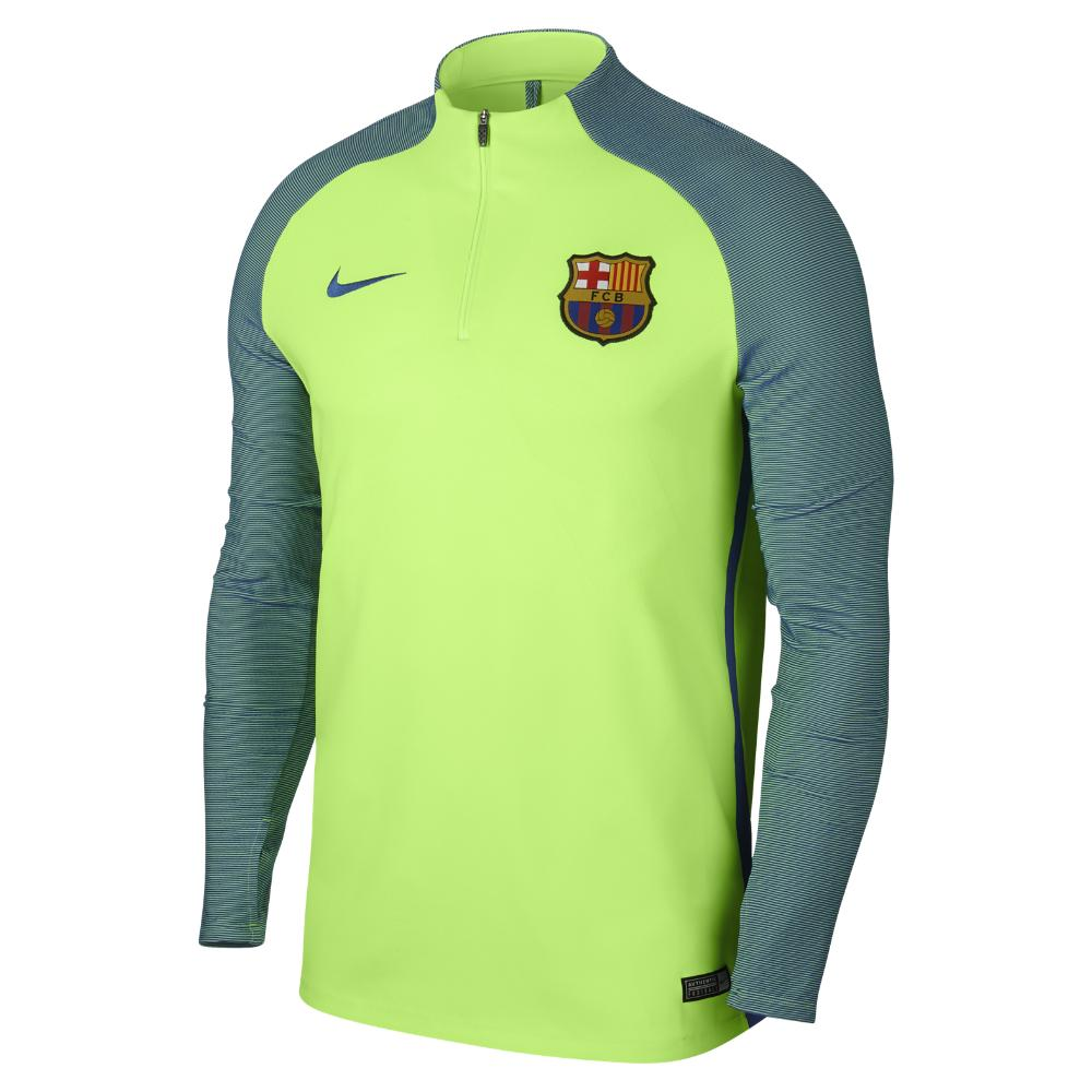 Lyst - Nike Fc Barcelona Strike Men s Soccer Drill Top in Green for Men 275611ddc