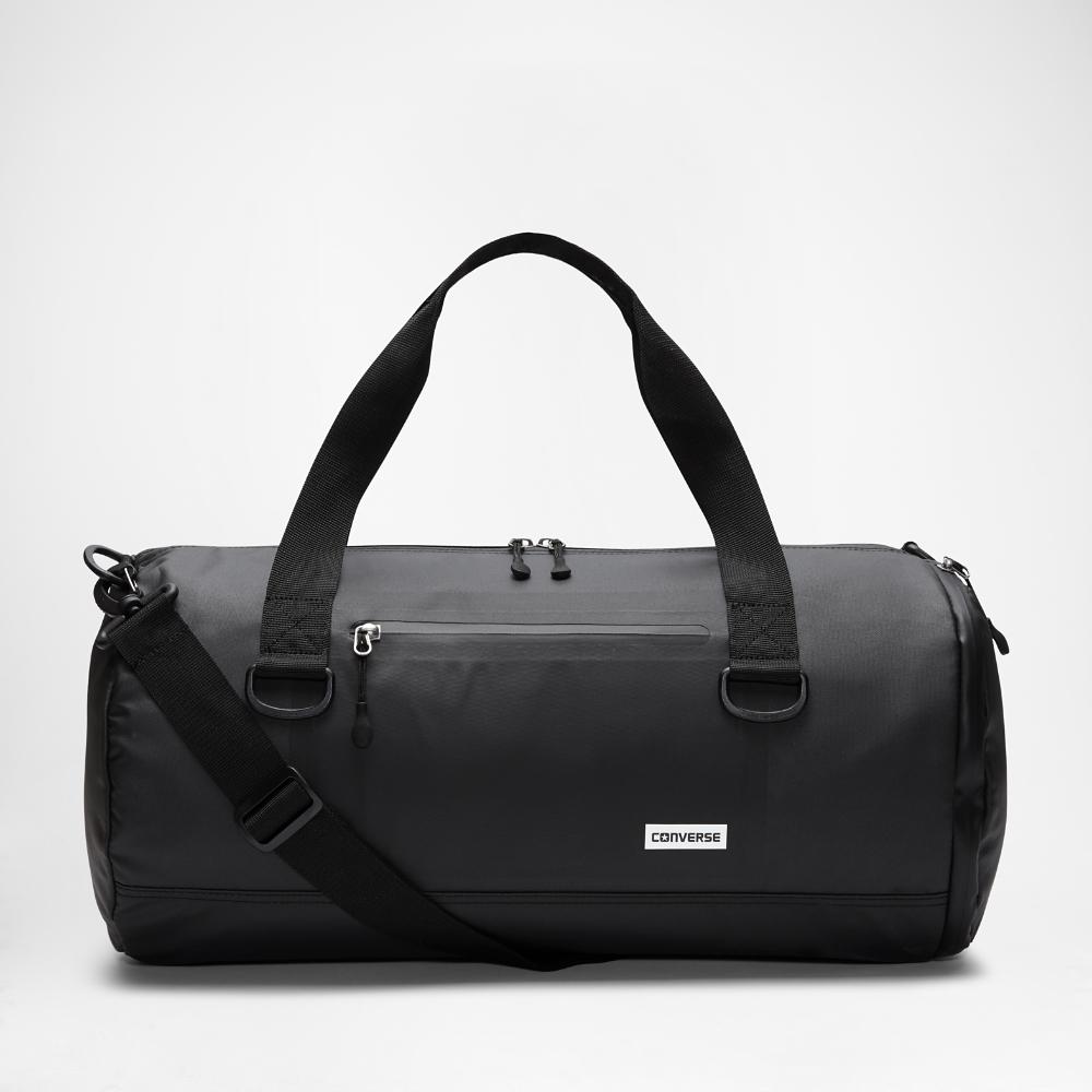 5ef5acdd21 Lyst - Converse Rubber (medium) Duffel Bag (black) in Black for Men