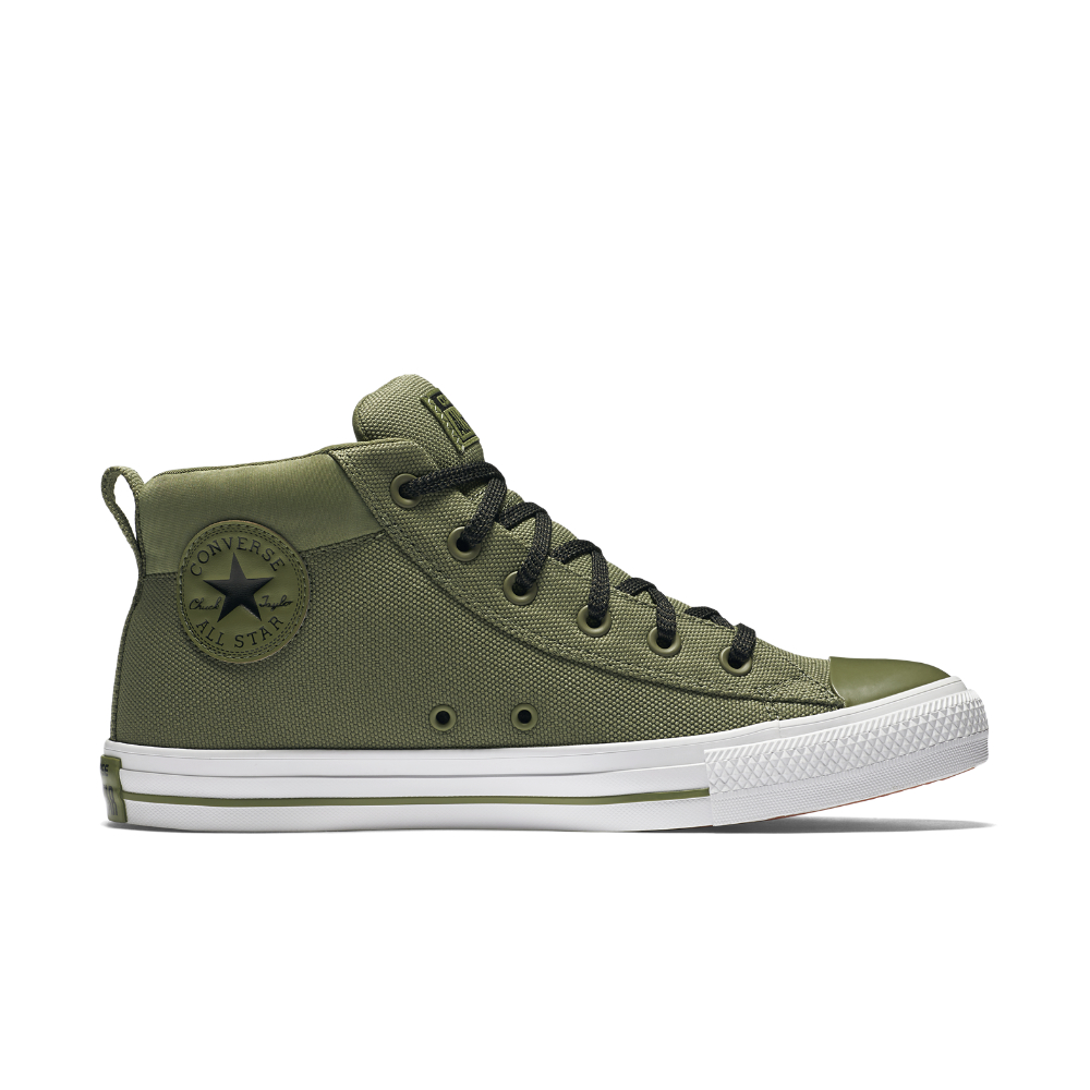 Lyst Converse Chuck Taylor All Star Street Mid Top Shoe
