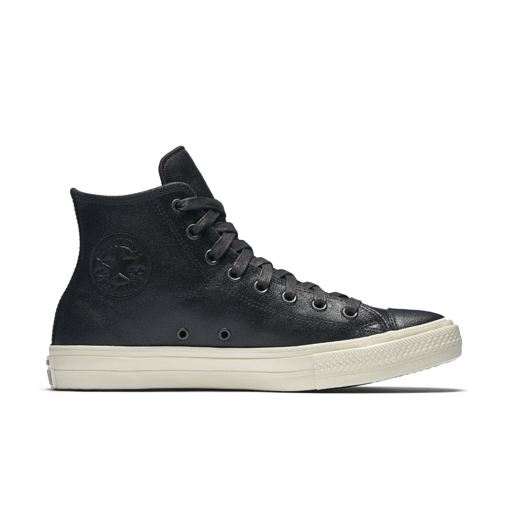 John Varvatos Converse Leather Shoes All Black