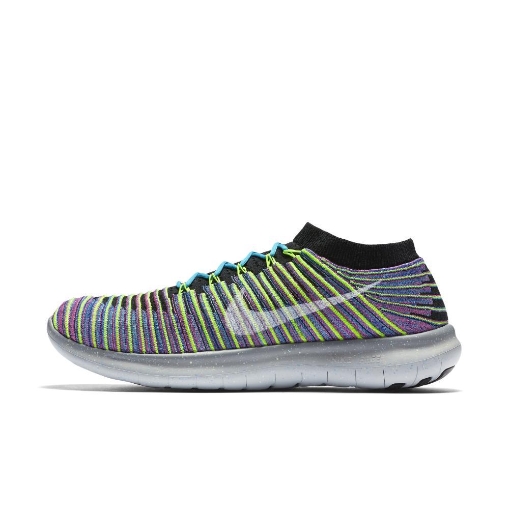 bf6b95d79dfe Nike - Multicolor Free Rn Motion Flyknit for Men - Lyst