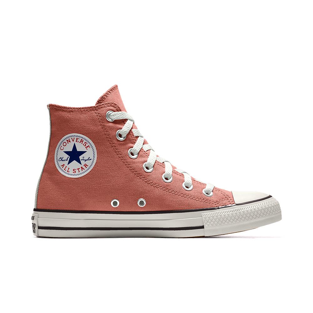 8ad4d14cc177 lyst converse custom chuck taylor all star high top shoe