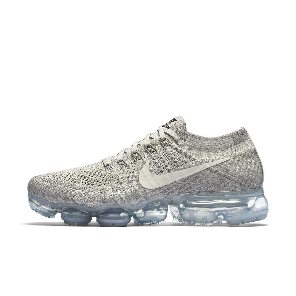 bb5355664b ... authentic nike gray air vapormax flyknit womens running shoe lyst 0765b  14af2
